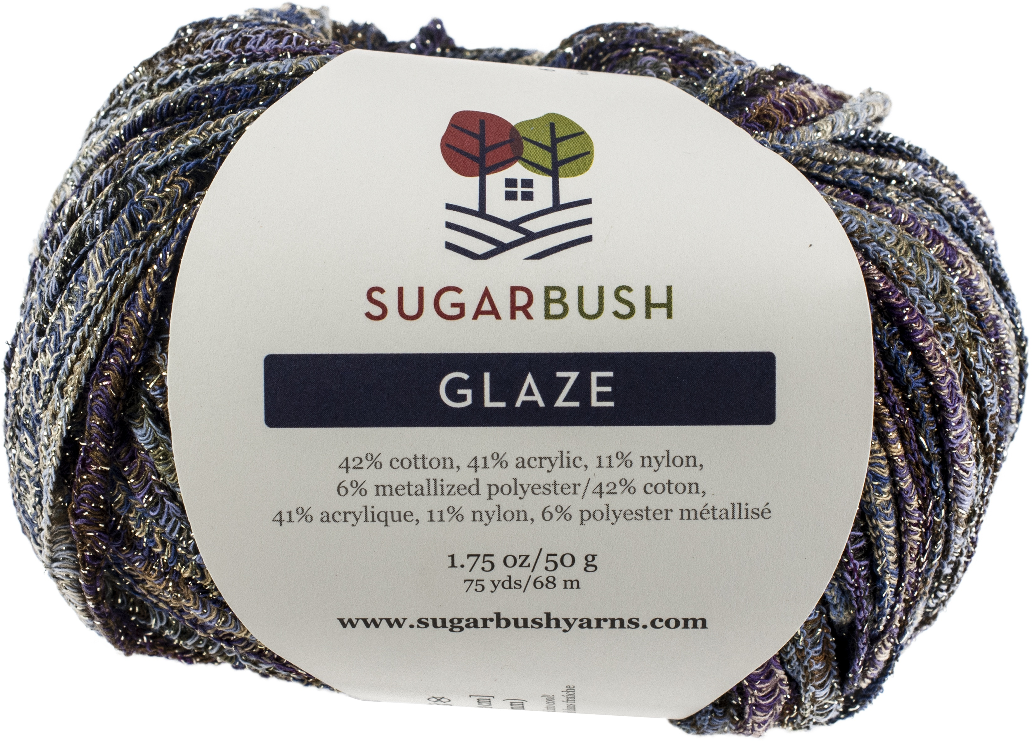 Sugar Bush Yarn Glaze-Lavender Ice