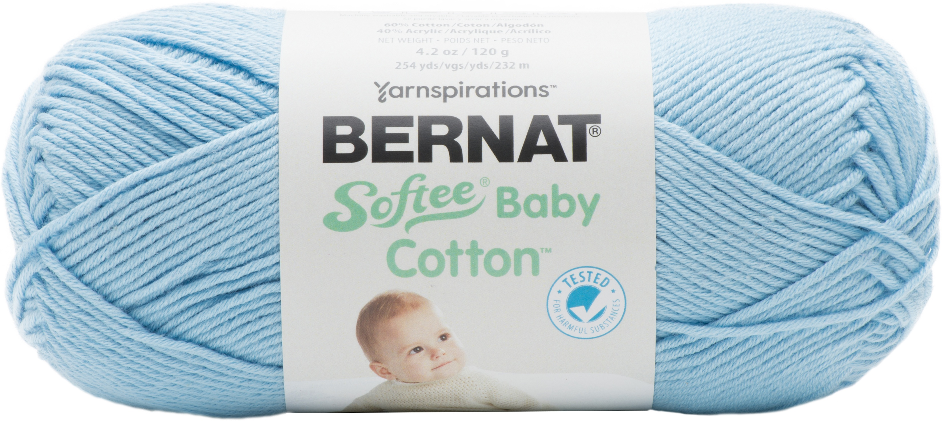 Bernat Softee Baby Cotton Yarn - 18 COLORS