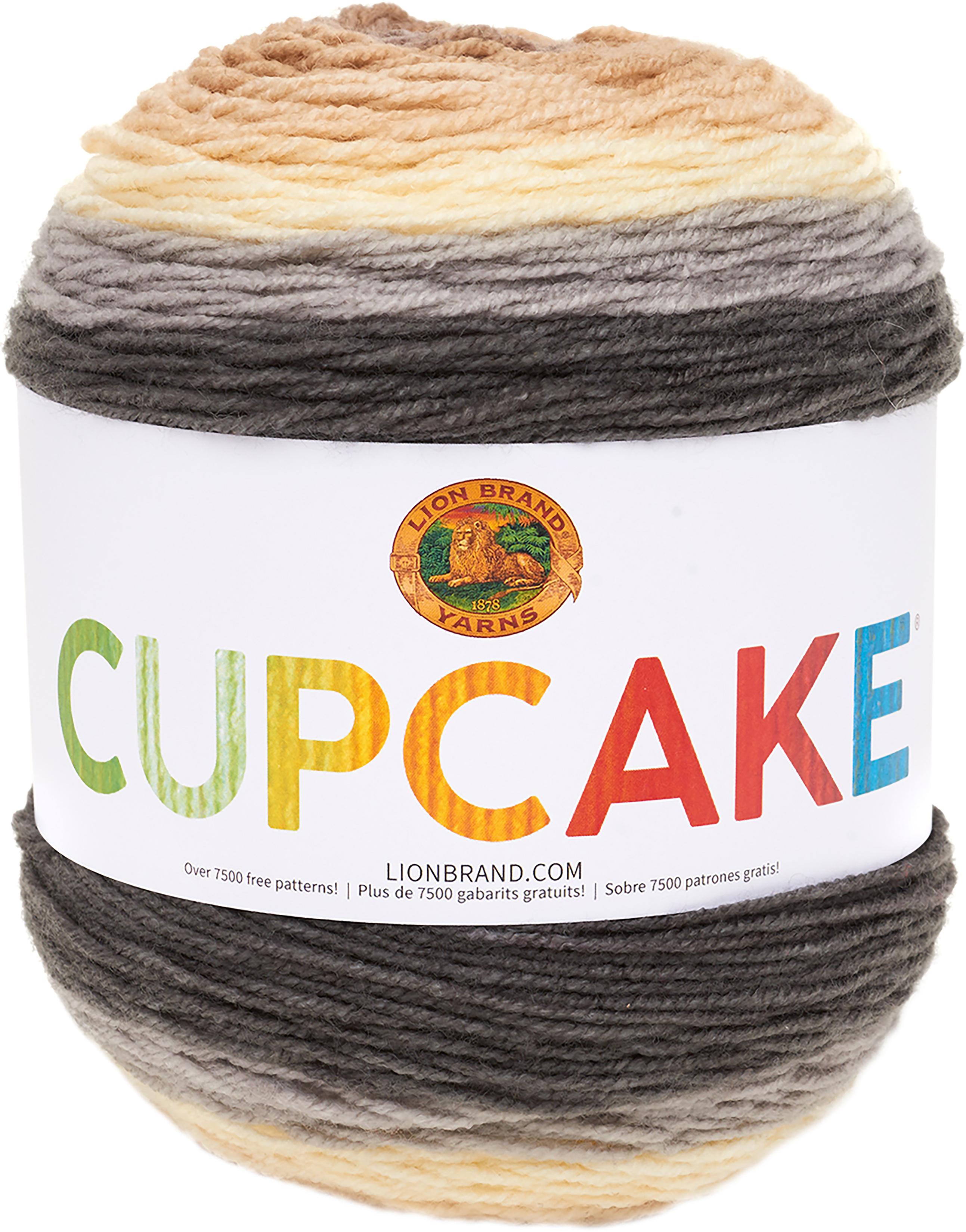 Lion Brand Cupcake Yarn-Coffee Break