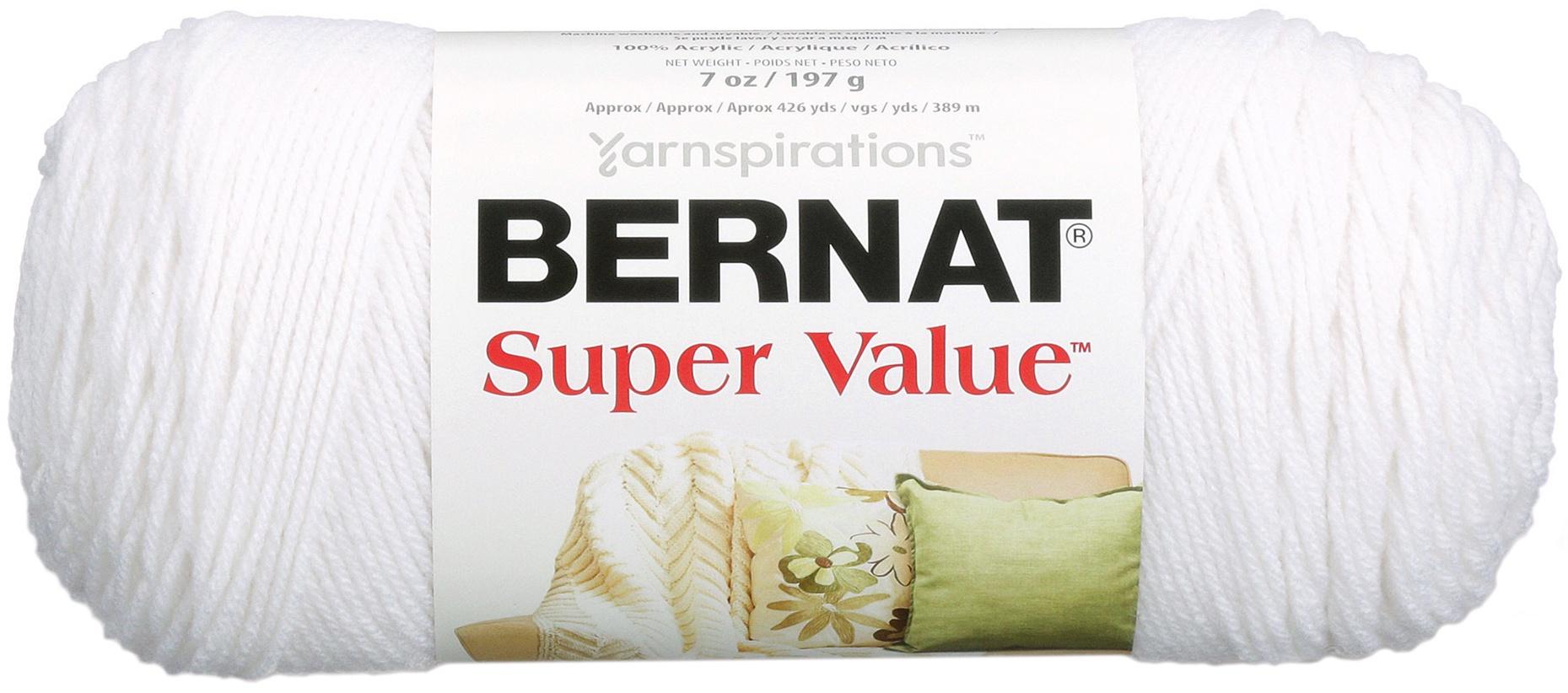 Bernat Super Value Solid Yarn