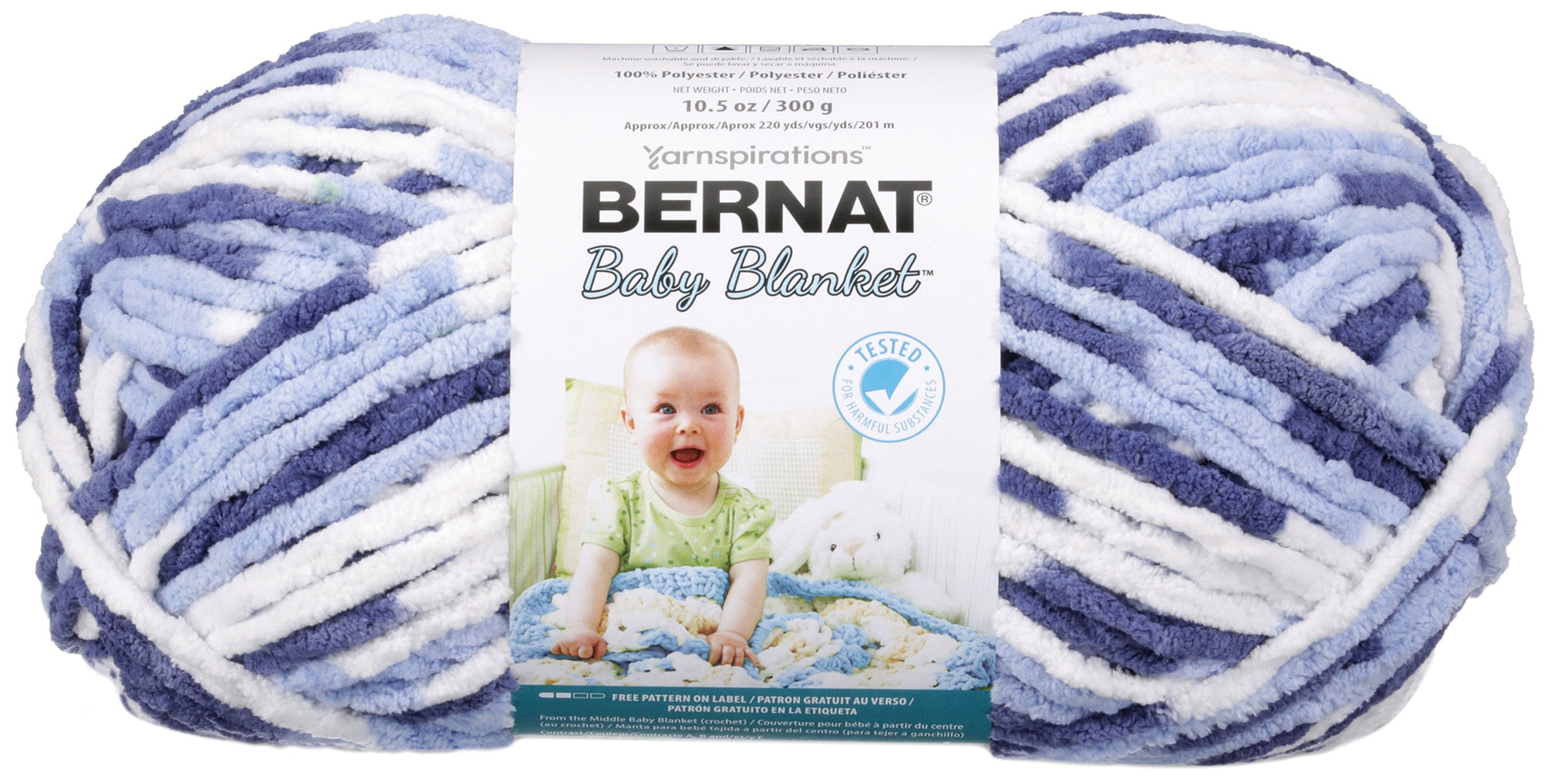 Bernat Baby Blanket Big Ball Yarn