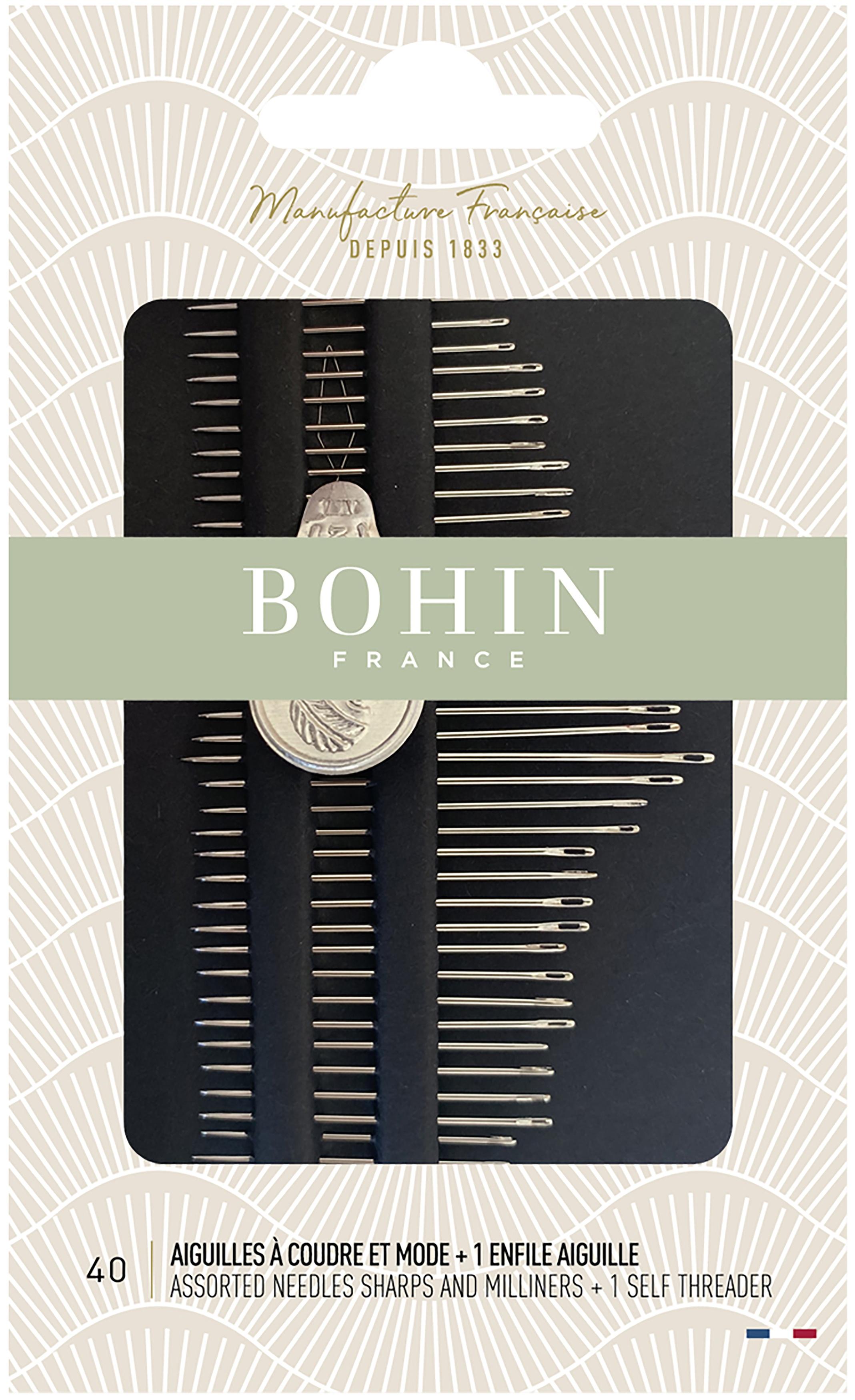 Bohin Sharps & Milliners Needles-Assorted 40/Pkg