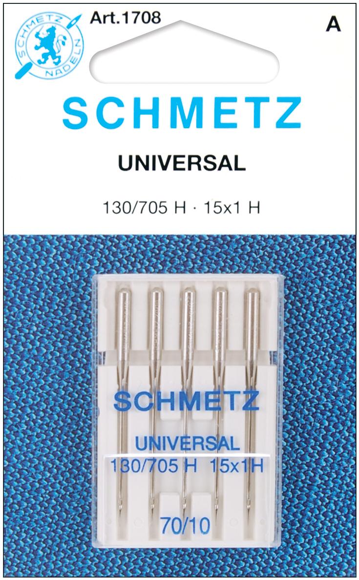 Schmetz Universal Machine Needles-Size 10/70 5/Pkg