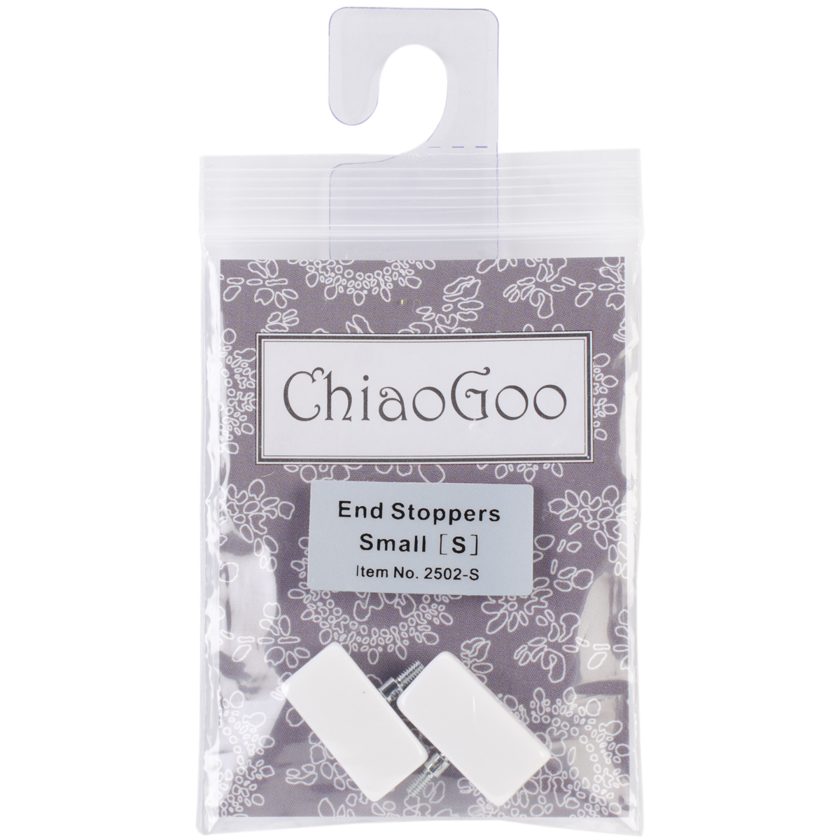 ChiaoGoo End Stoppers-Small 2/Pkg