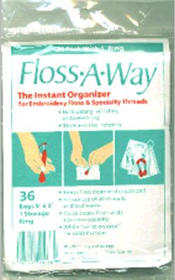 Floss-A-Way Organizer-3X5 36/Pkg