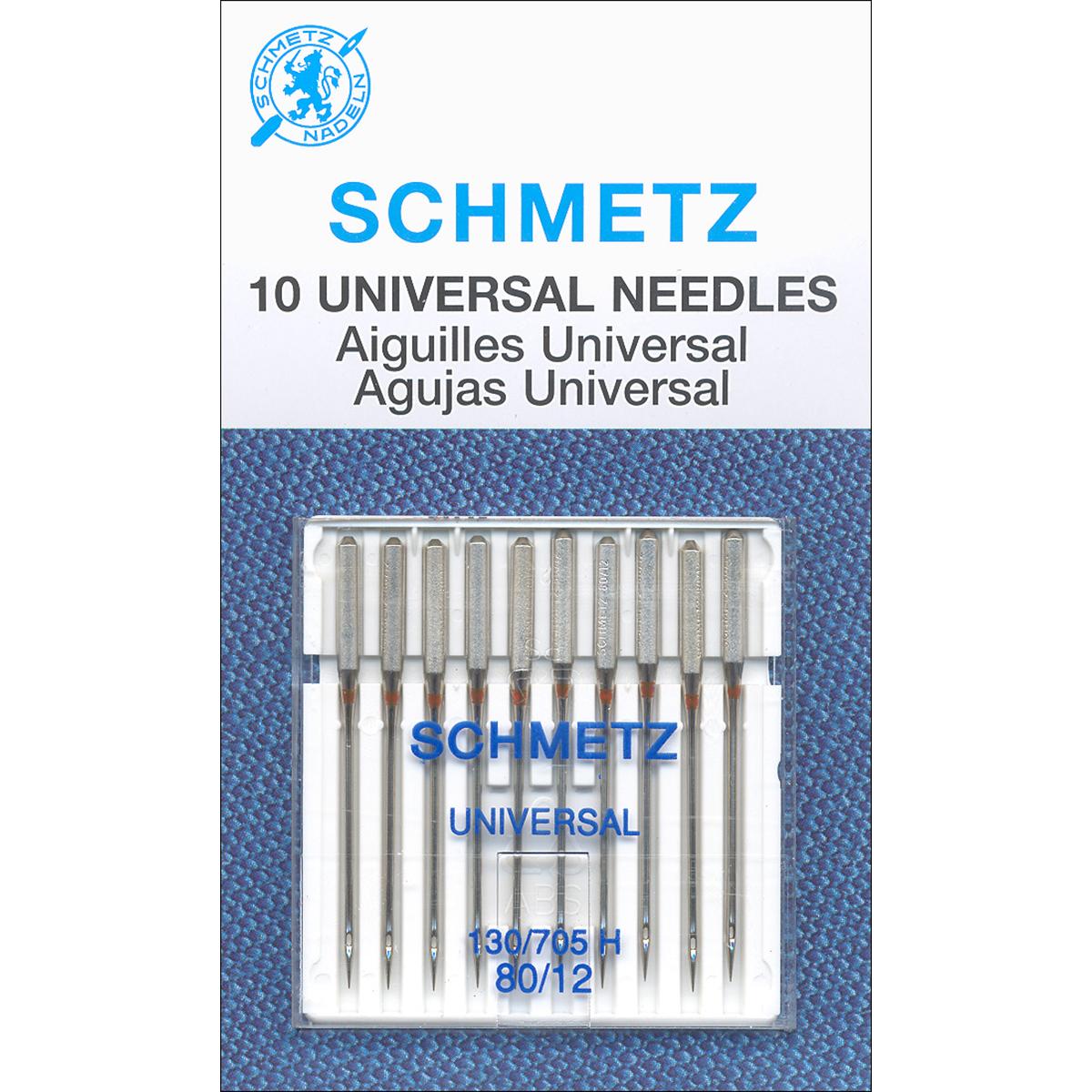 Schmetz Universal Machine Needles -Size 80/12 10/Pkg
