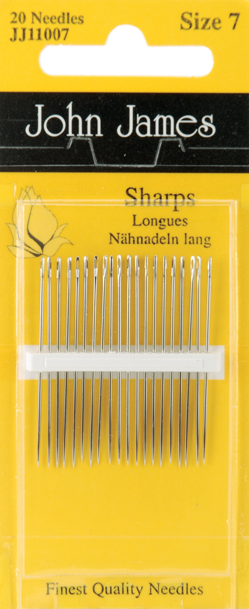 John James Size 7 Hand Needles