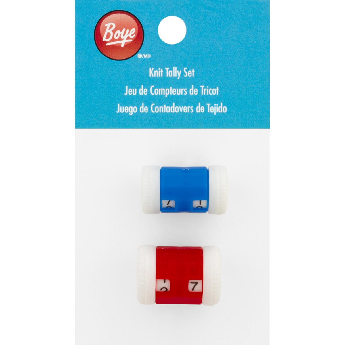 Boye Knit Tally Set-2/Pkg