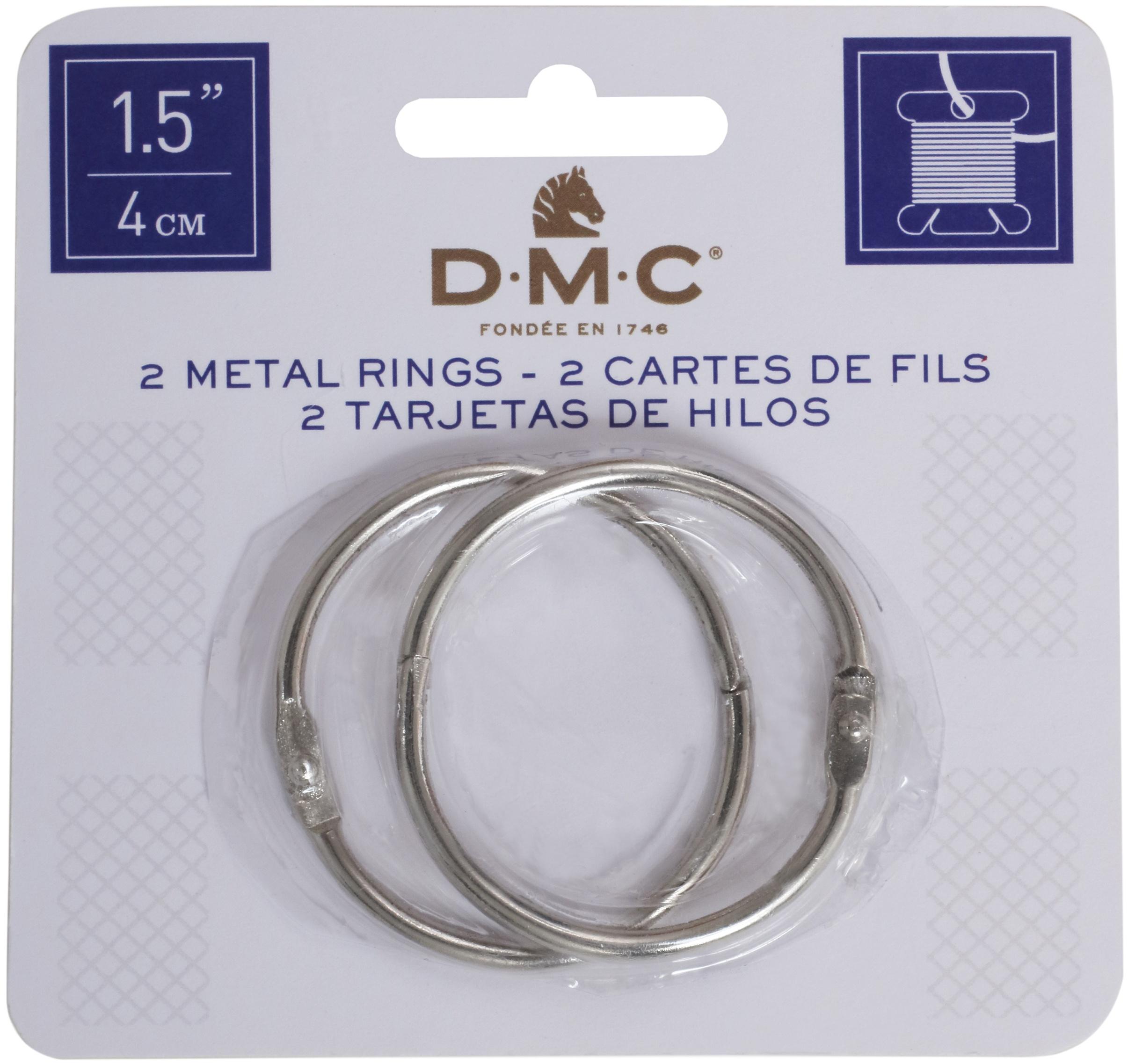 DMC Metal Rings 1.5