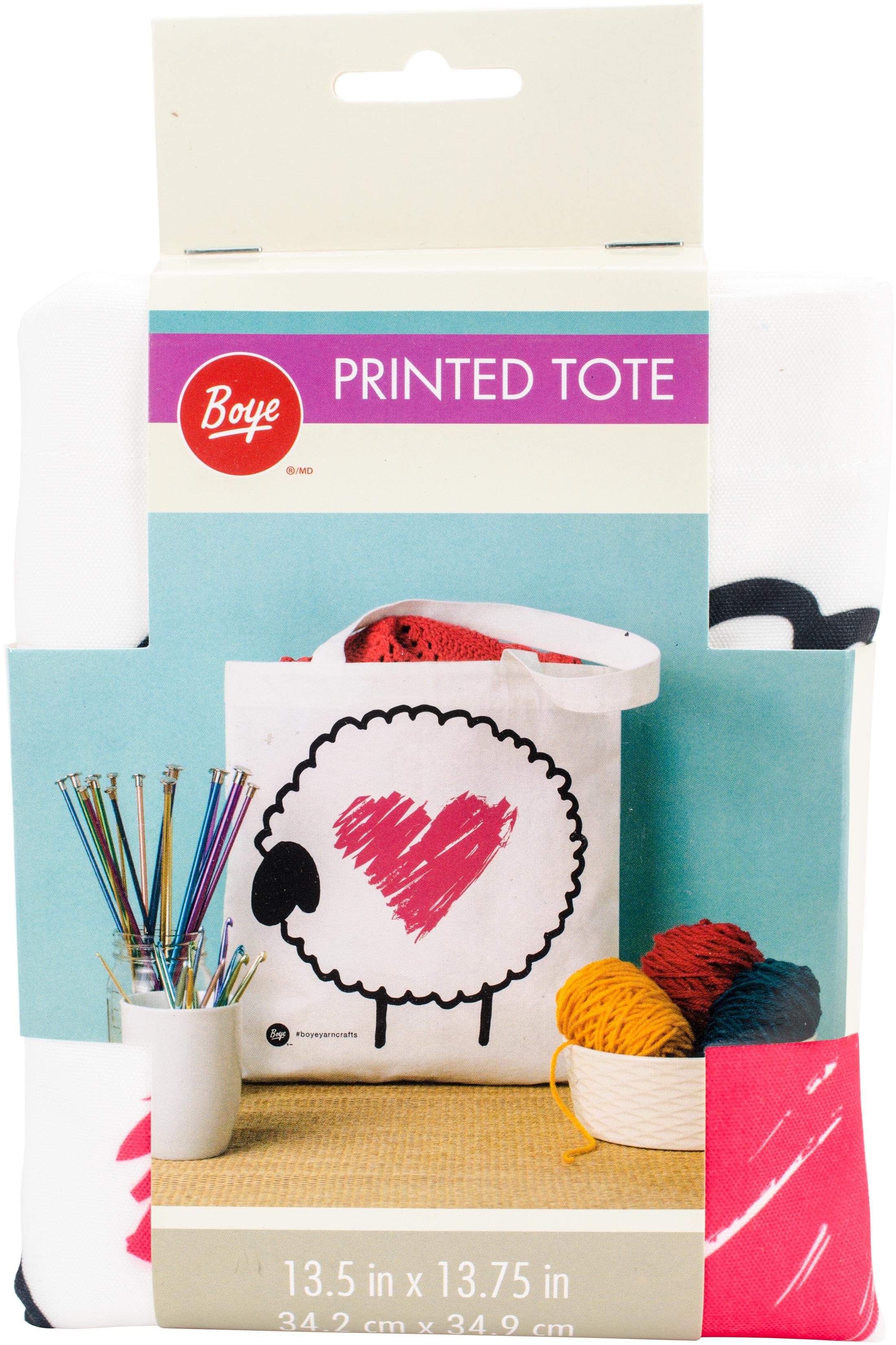 Sheep with Heart (Boye) Tote Bag