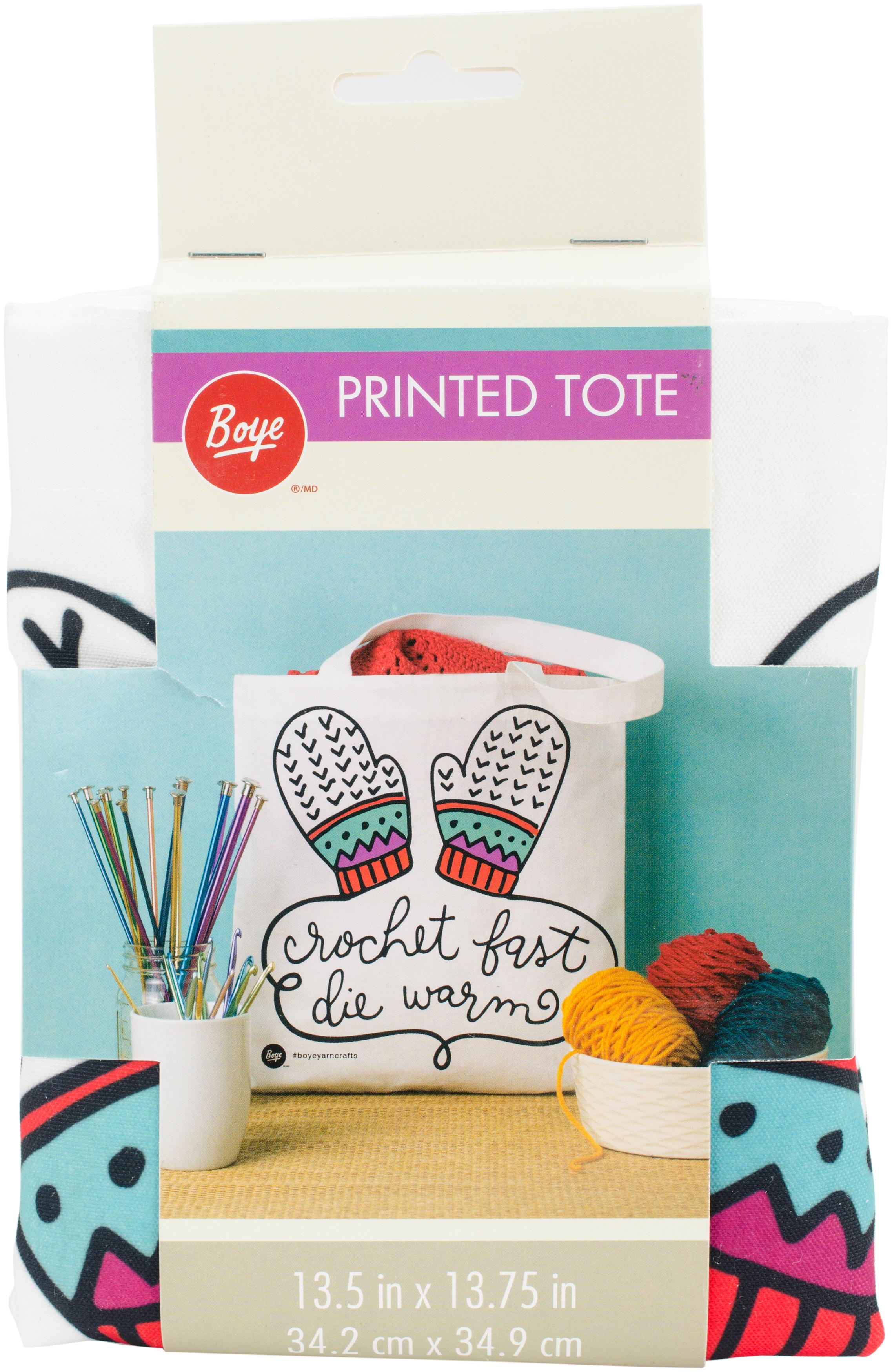 Crochet Fast Tote (Boye)