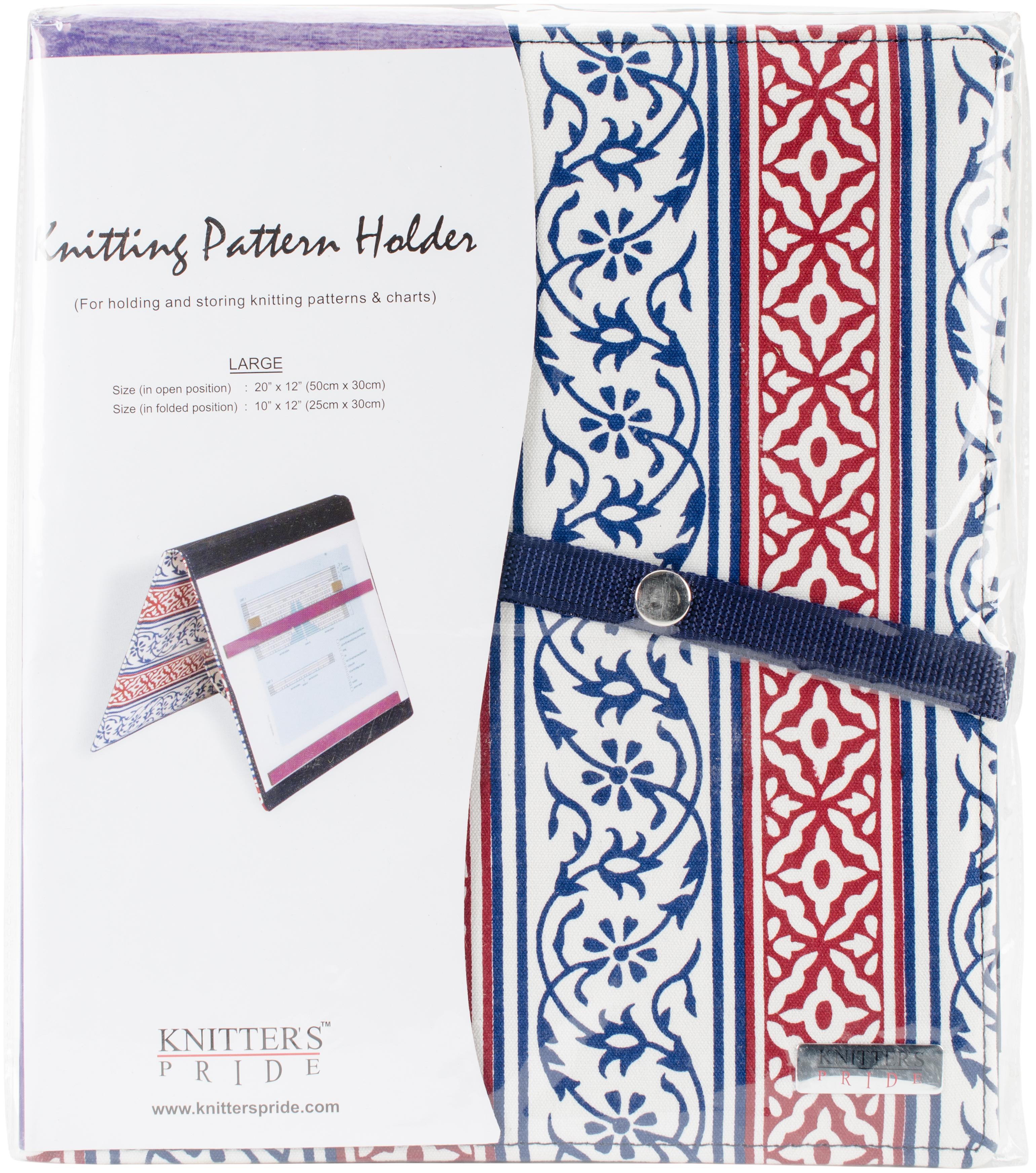 Knitter's Pride Pattern Holder Large - Navy