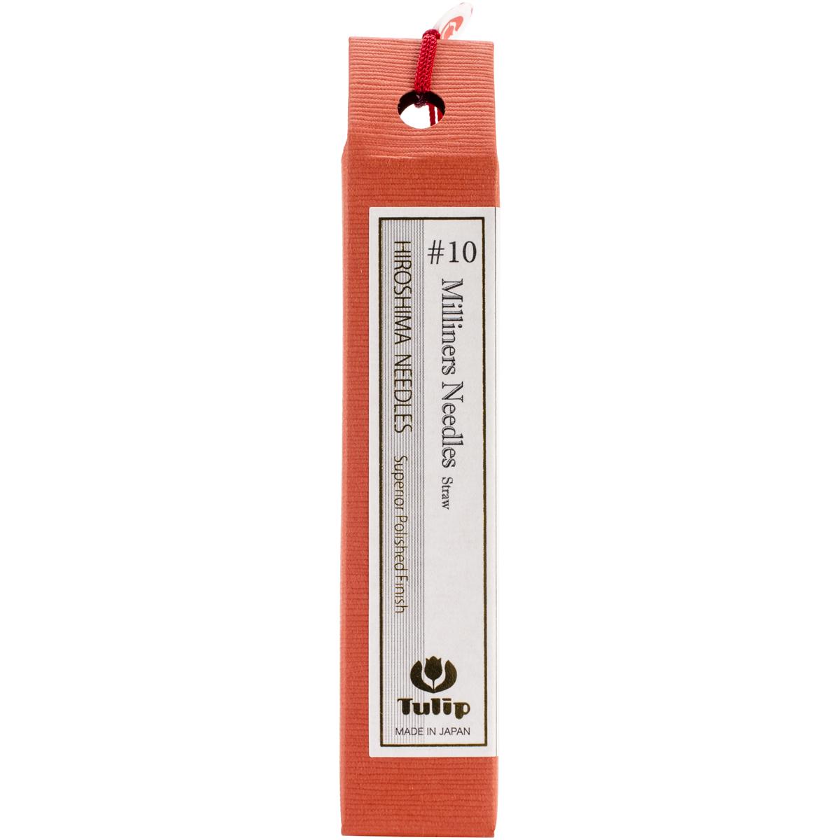 Tulip Milliners/Straw Needles 6/Pkg-Size 10