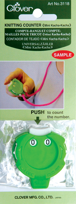 Mini Knitting Counter (Green) 3118