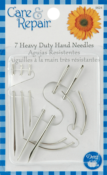 Dritz Care & Repair Heavy-Duty Hand Needles 7/Pkg-Assorted