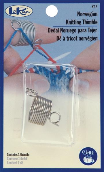 LoRan Norwegian Knitting Thimble-