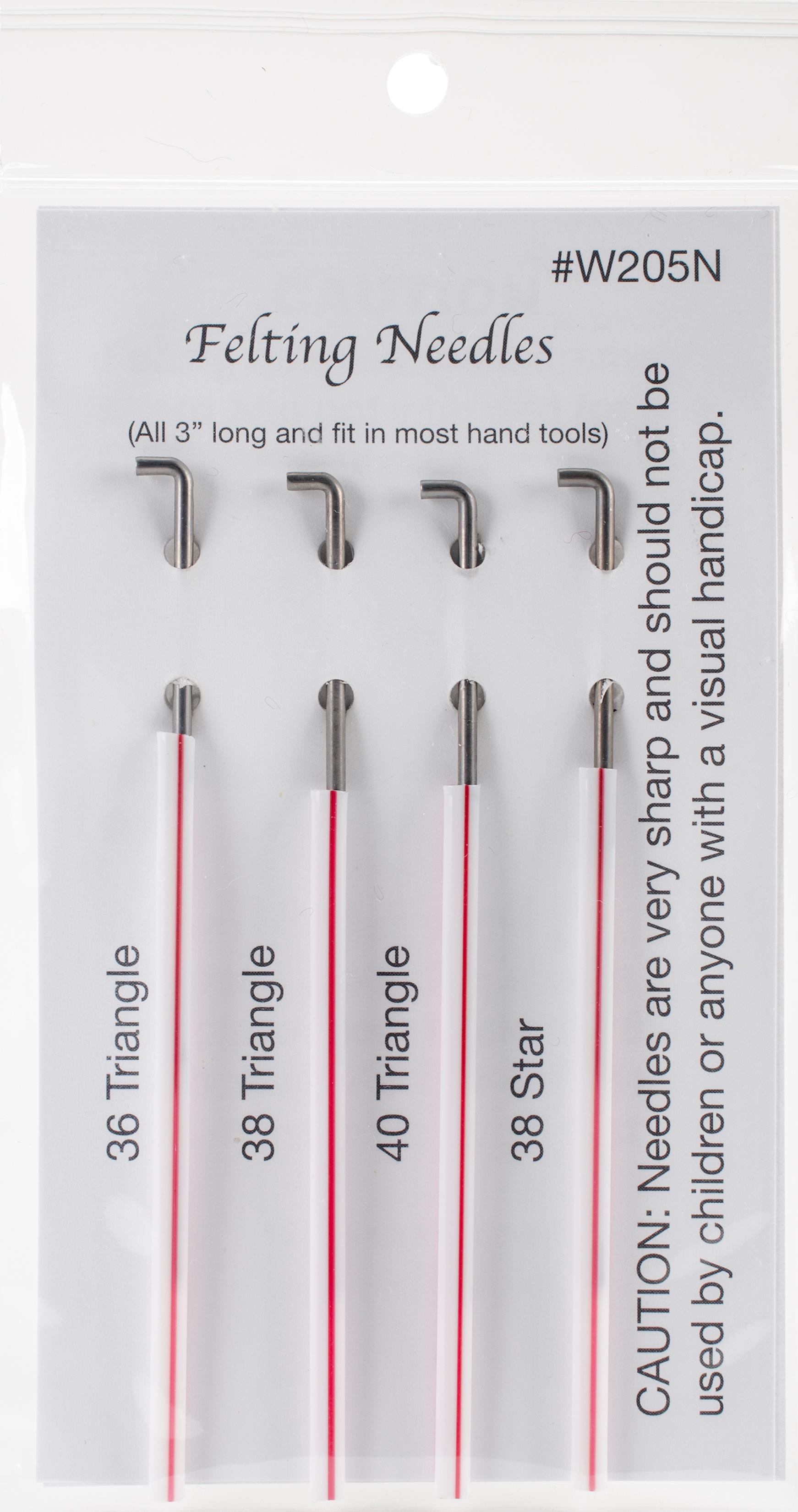 Felting Needles Assorted 4-Pack