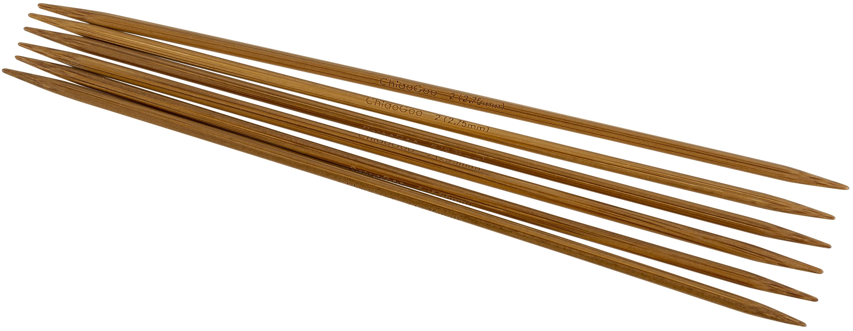 ChiaoGoo Bamboo 6 DPNS