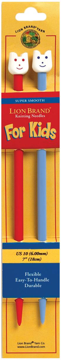 Lion Brand Kids Knitting Needles 7-Size 10/6mm