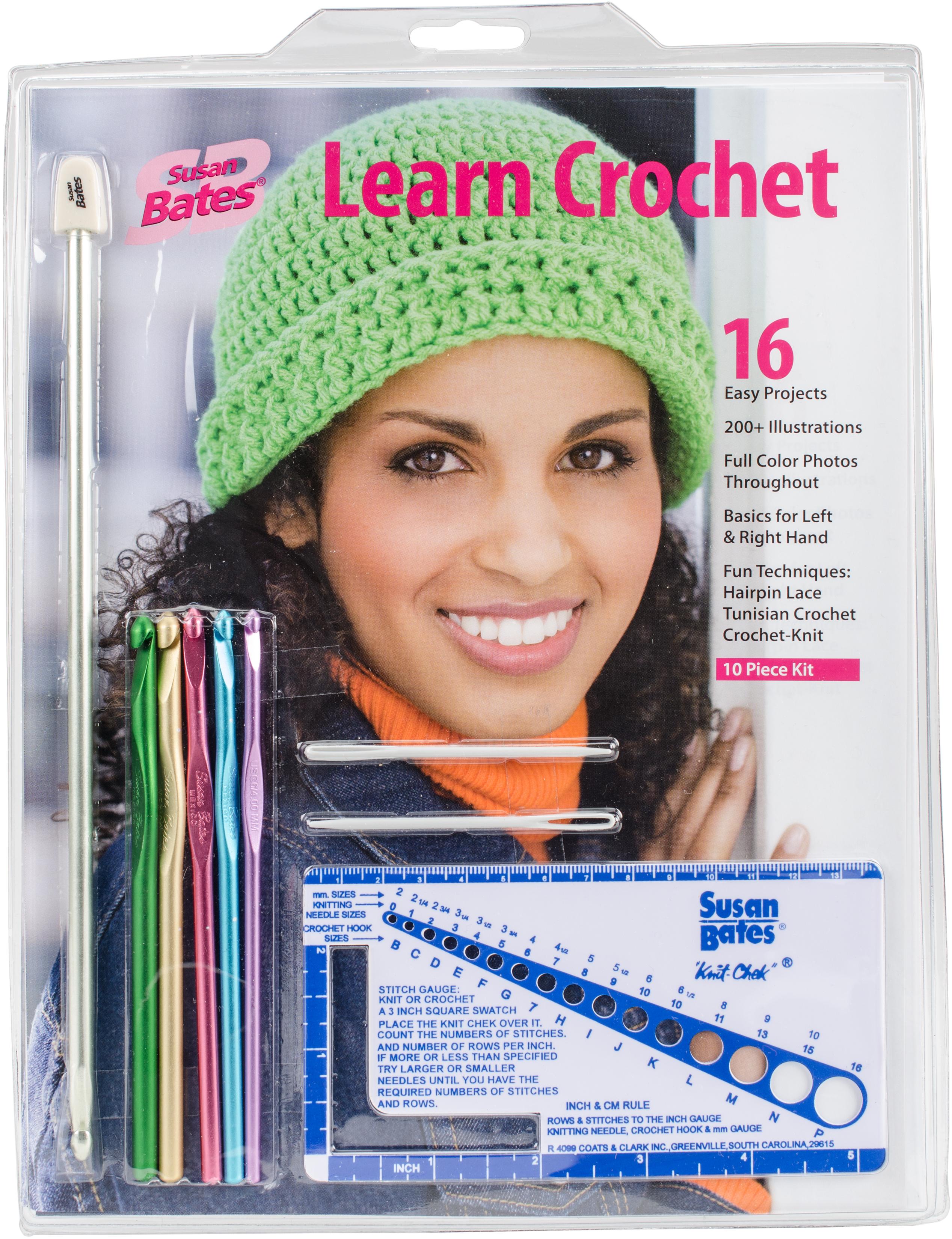 Susan Bates Learn Crochet! Kit-