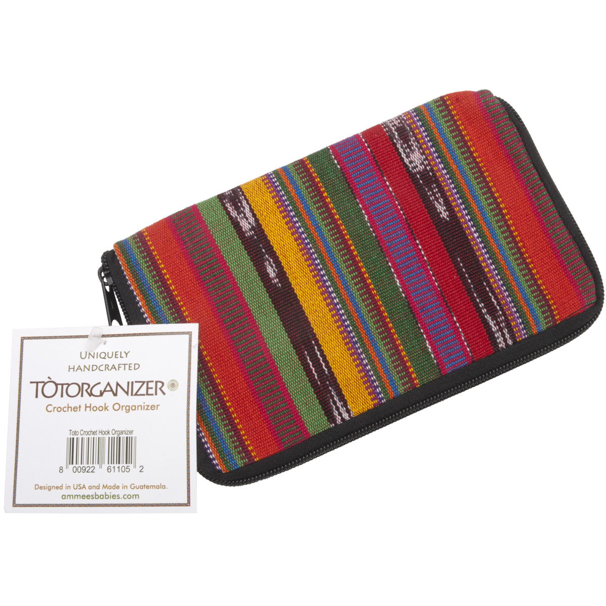 Ammee's Babies TotOrganizer For Crochet Hooks-4.5X7 Assorted Patterns
