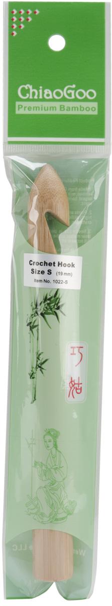 ChiaoGoo Bamboo Crochet Hook Size S