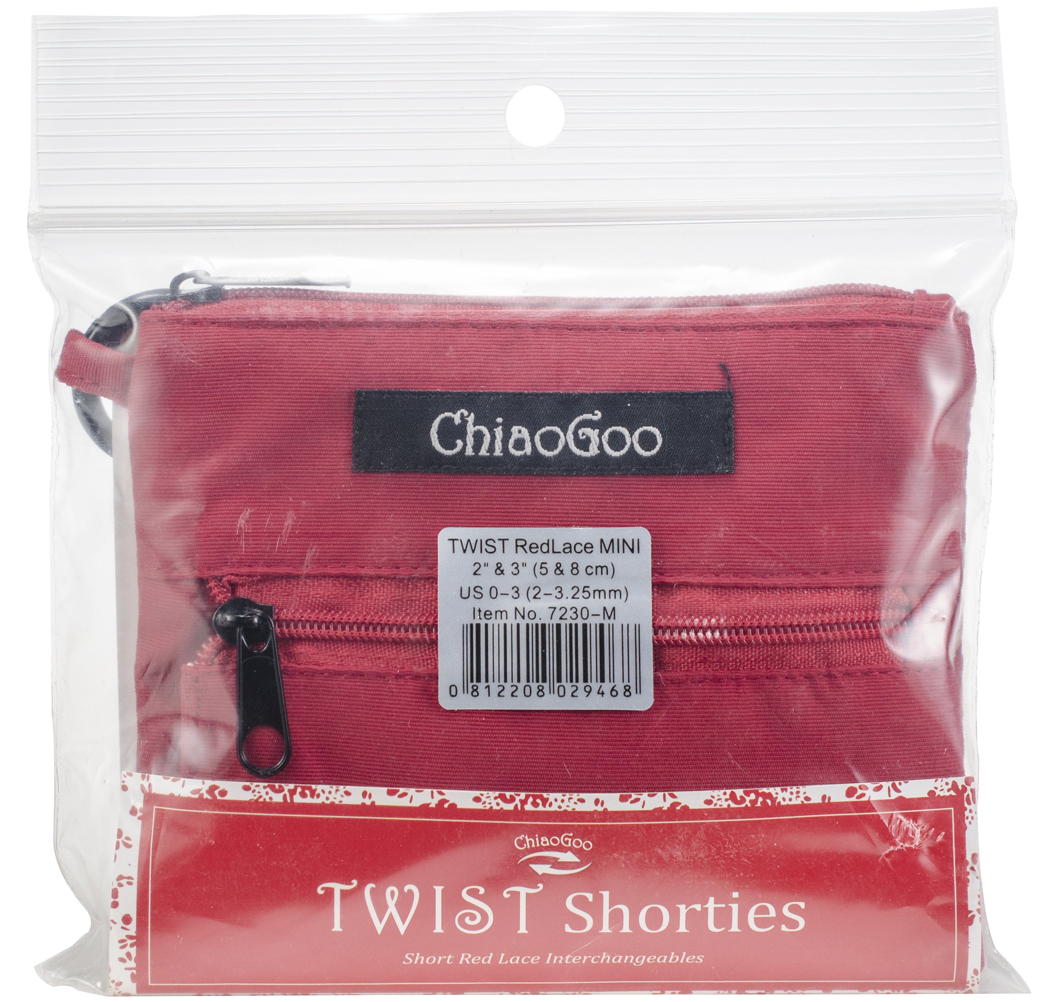 ChiaoGoo Shorties IC Set Red