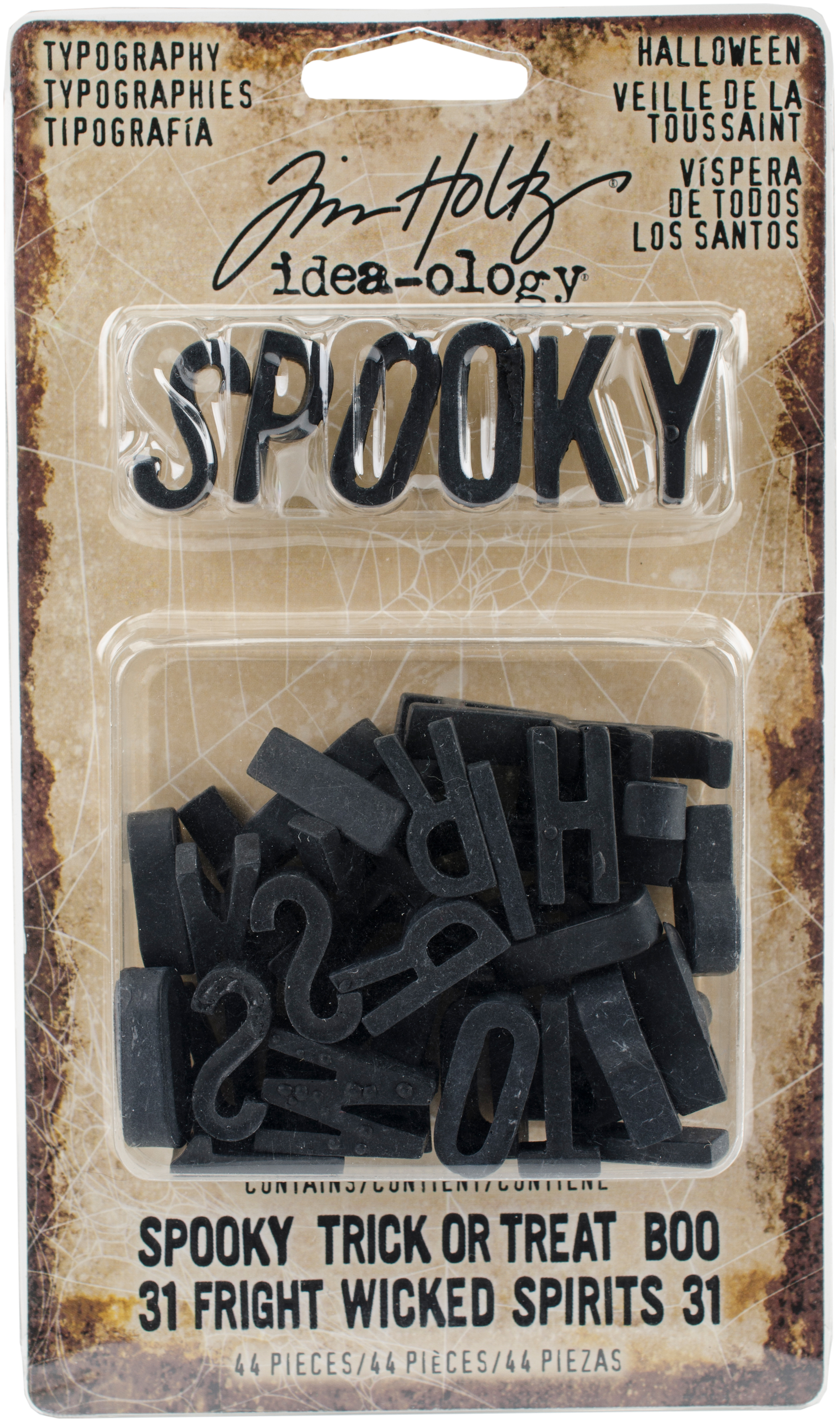 Tim Holtz Halloween Typography