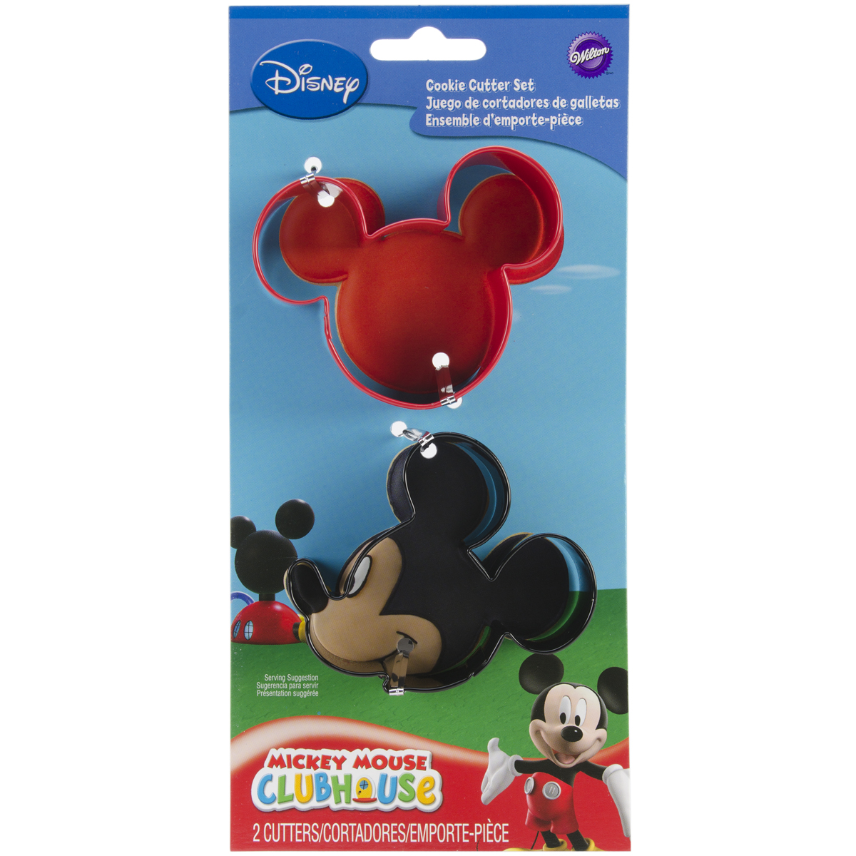 Mickey Cookie Cutters