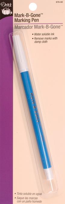 Dritz Mark-B-Gone Marking Pen-Blue