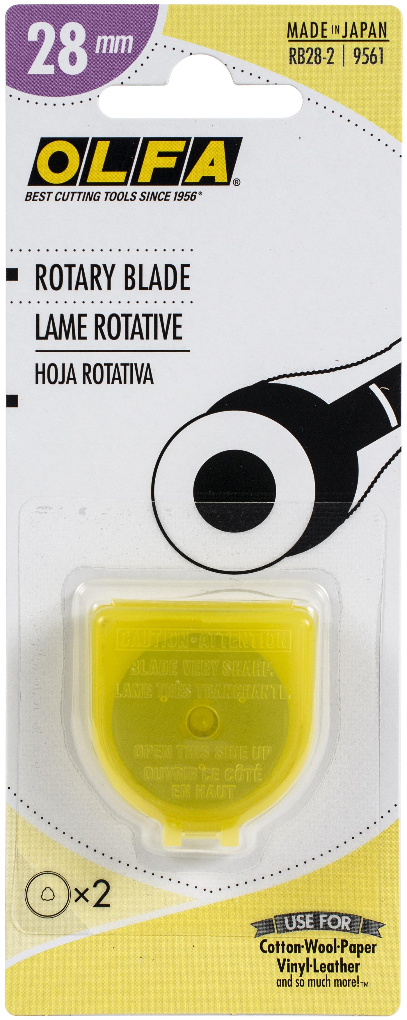 OLFA Rotary Blade Refill 28mm 2/Pkg-