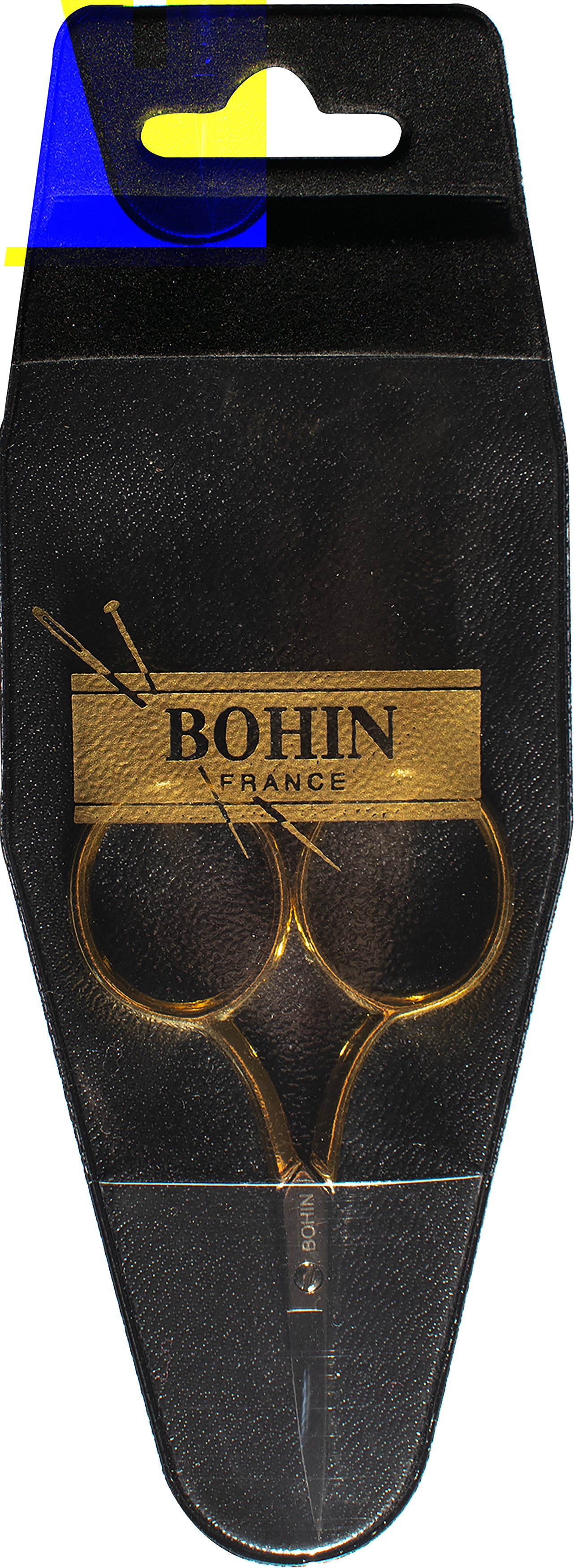Bohin Embroidery Scissors 3.5-Large Gilt Handle