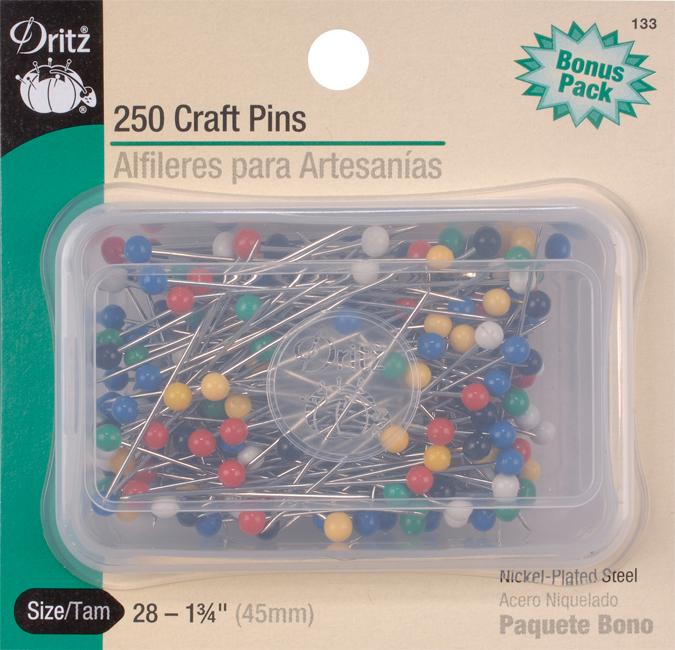 Dritz Ball Pins Size 28 1-3/4 250Pk