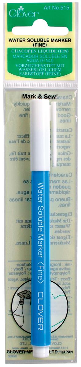 Clover Water-Soluble Marker - Fine-Blue