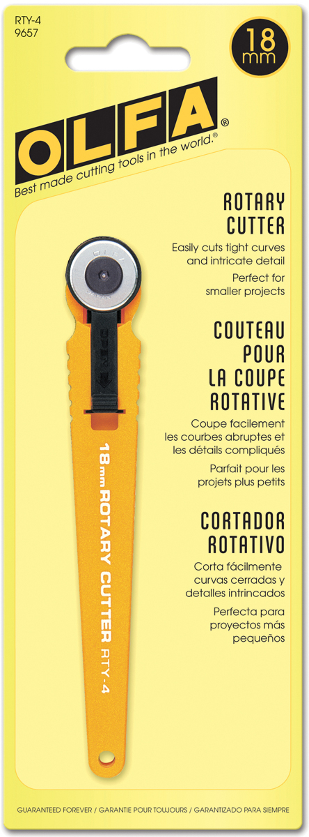 OLFA Small Rotary Cutter 18mm-
