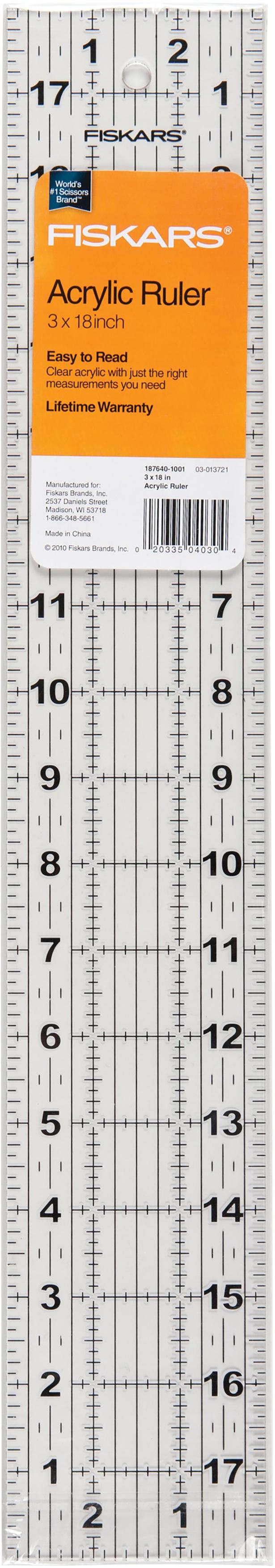 3 x 18 Ruler