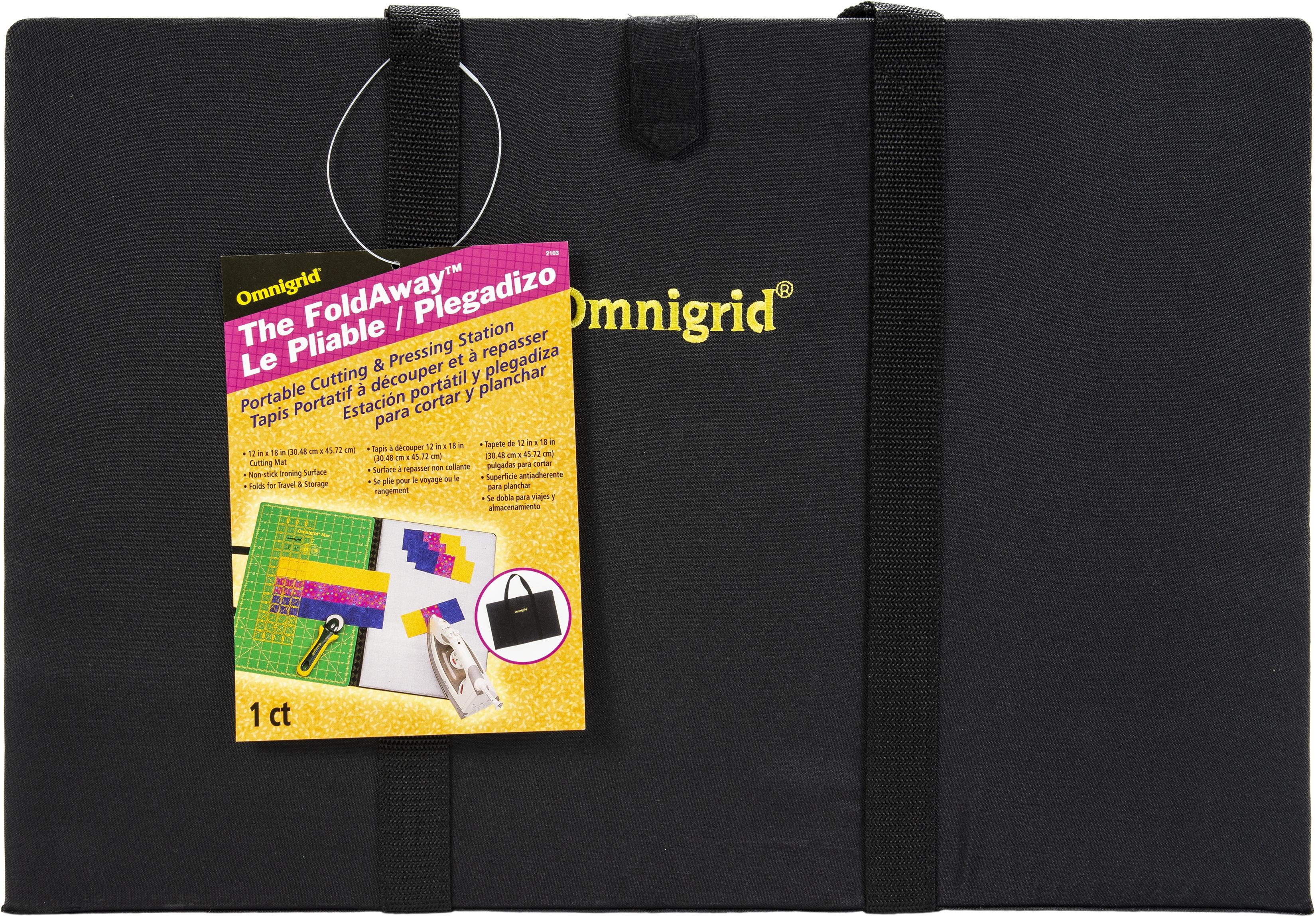 Omnigrid Gear Fold Away Portable Cutting & Pressure Station-12X18
