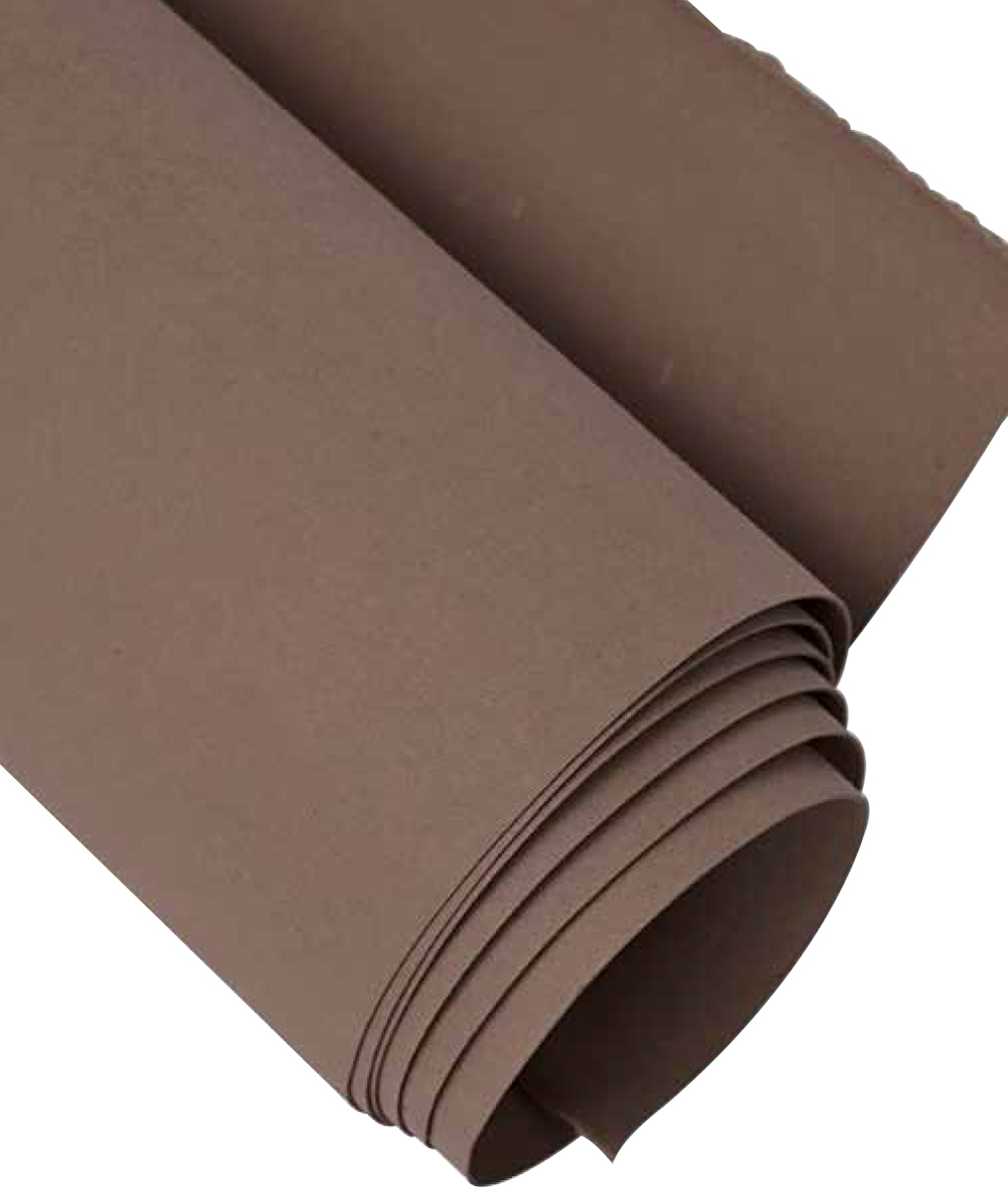 kraft-tex Kraft Paper Fabric 19X1.5yd-Chocolate