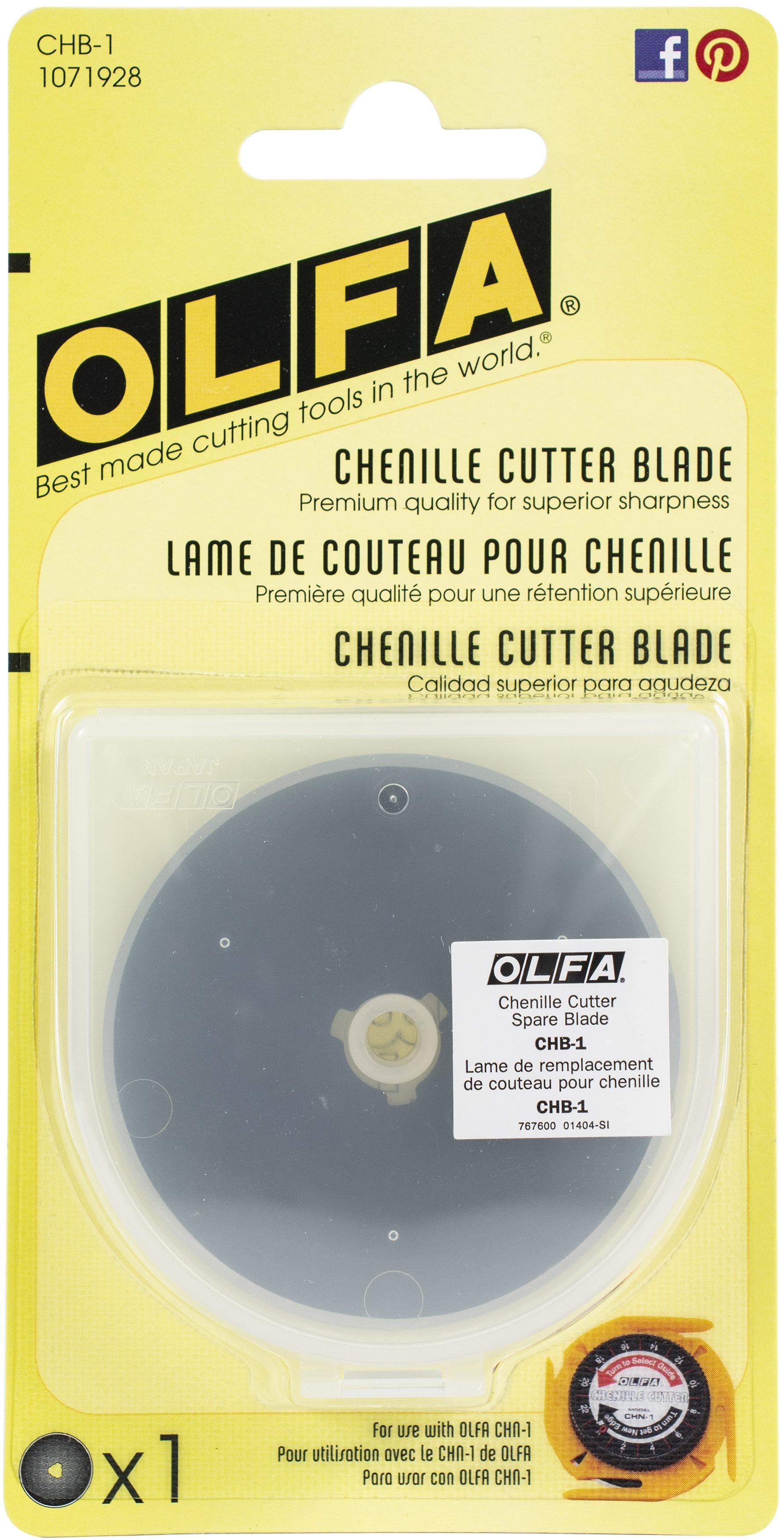 OLFA Chenille Cutter Blade Refill-1/Pkg