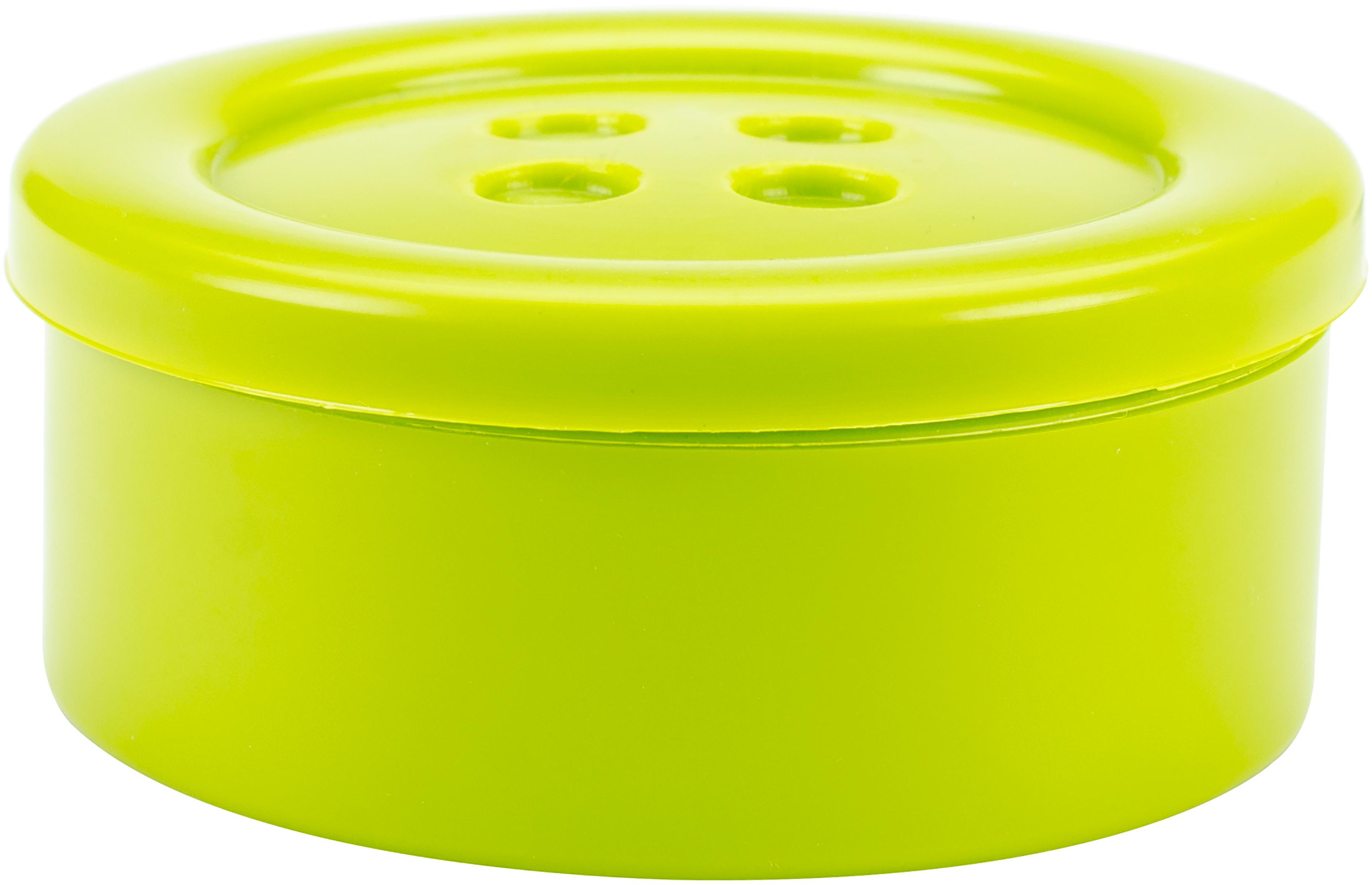 Blumenthal Lansing Button Shaped Storage Box 3.25-Lime - Small