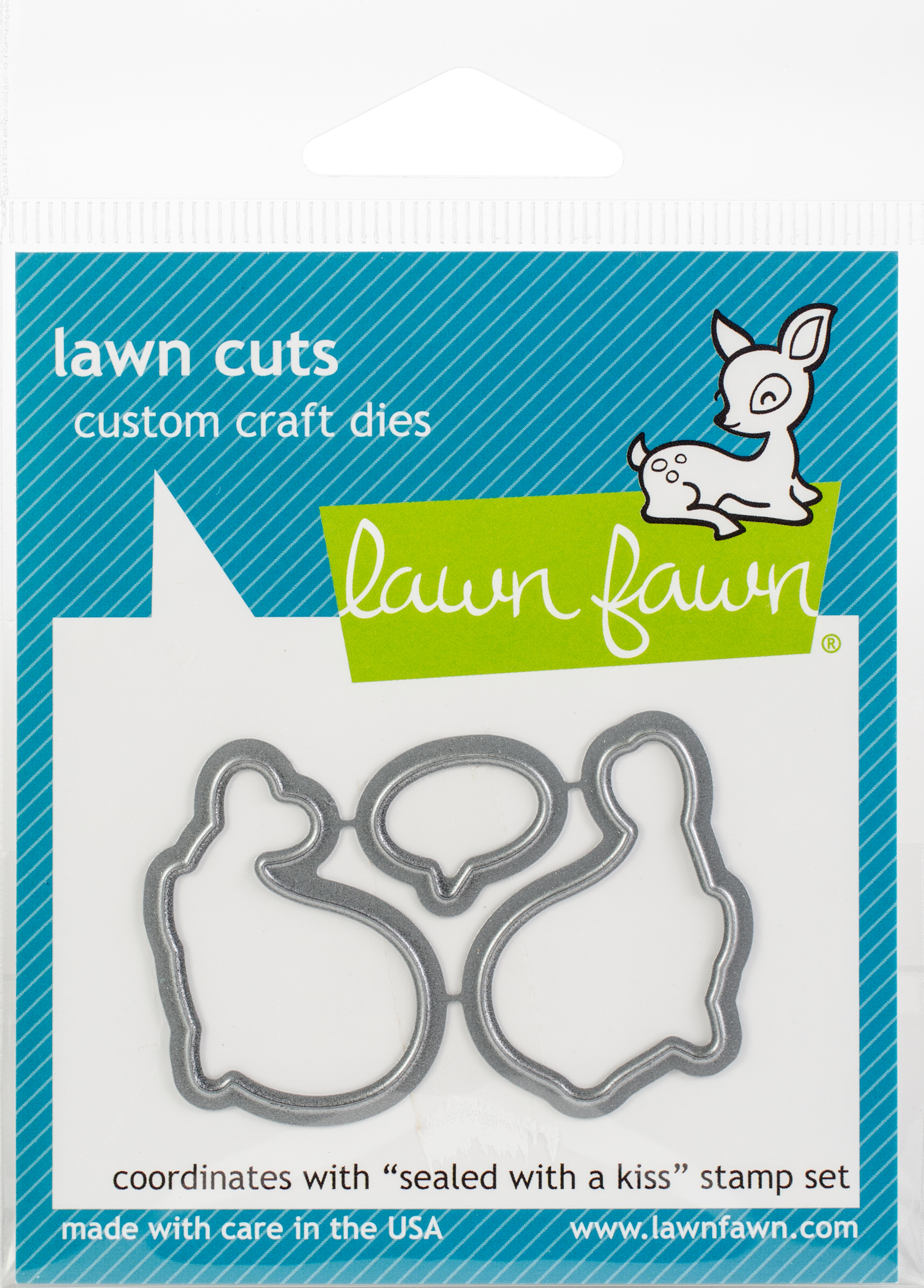 Lawn Cuts Custom Craft Die-Sealed With A Kiss
