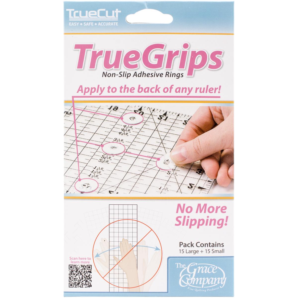 TrueCut Non-Slip Ruler Grips-30/Pkg