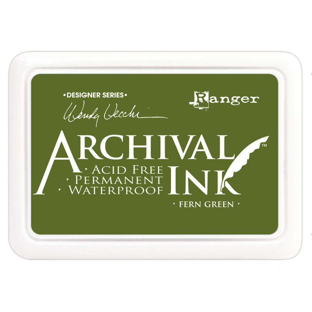 Ranger Archival Ink Pad FERN GREEN