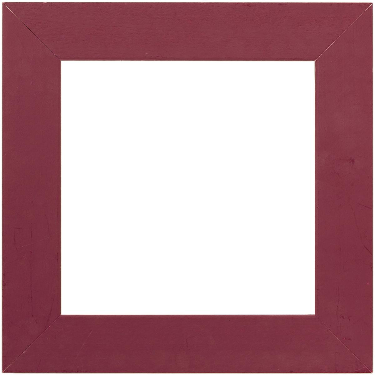 Frame 6X6-Matte Plum