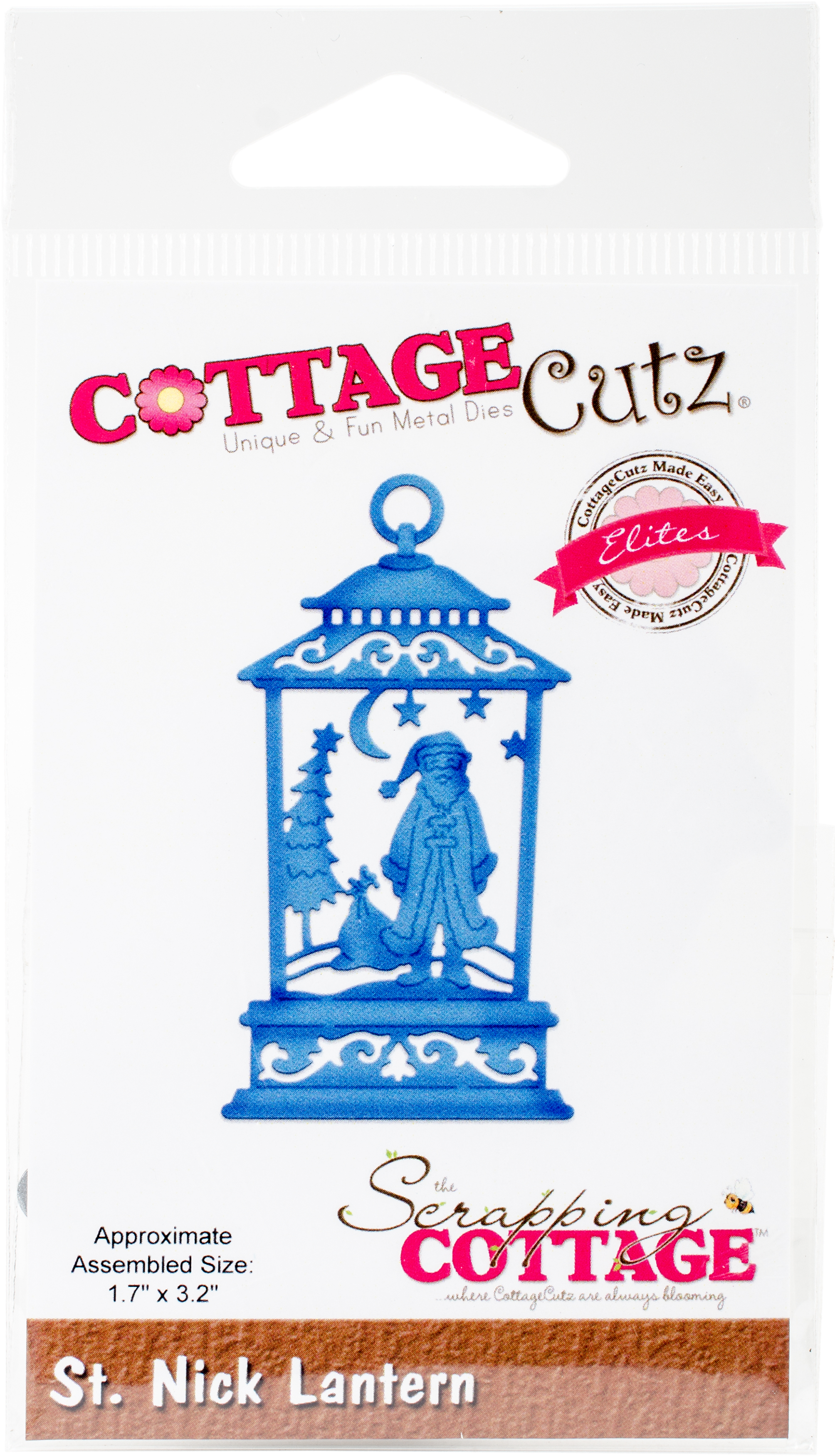 CottageCutz Elites Die-St Nick Lantern 1.7X3.2