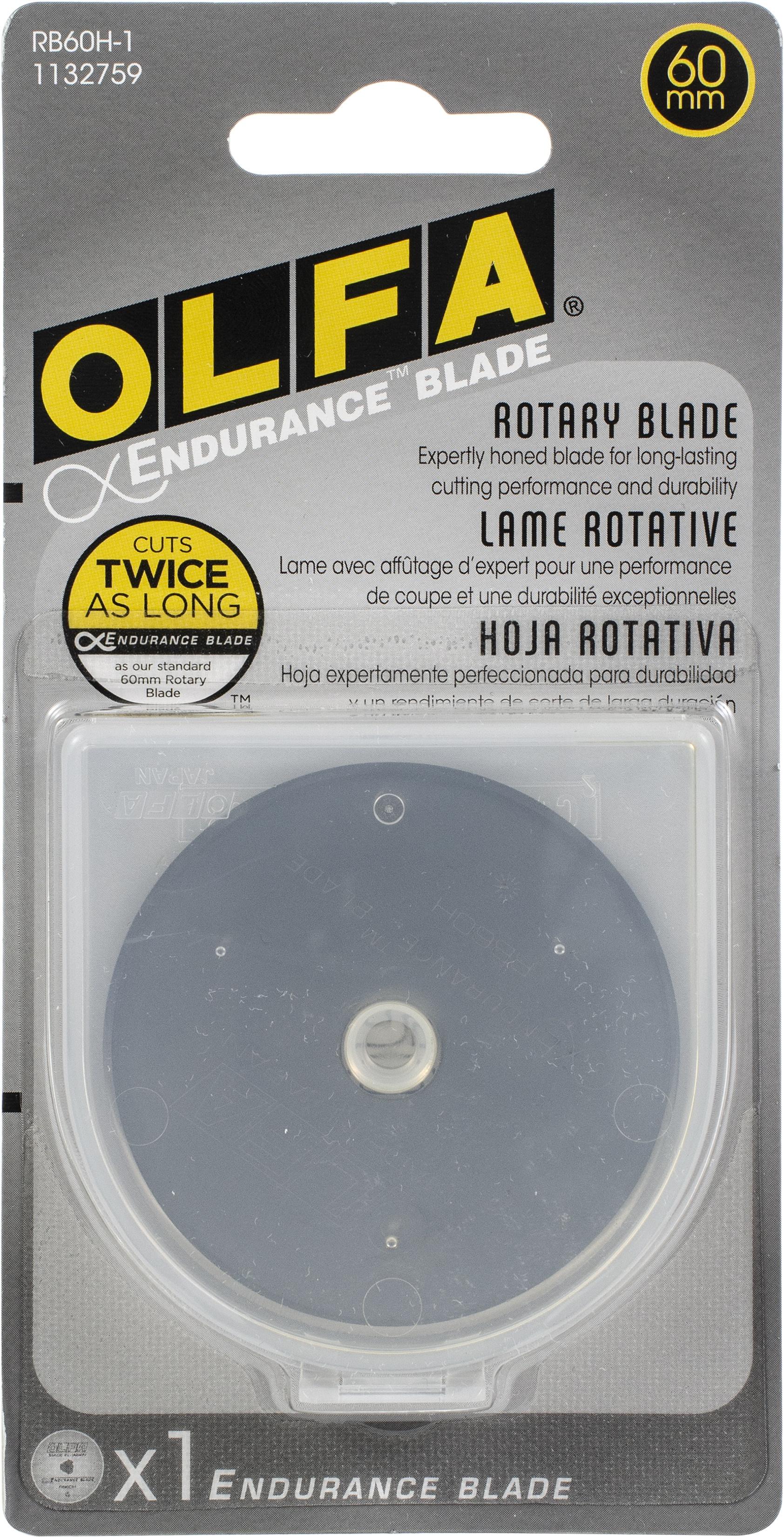 OLFA Endurance Rotary Blade Refill 60mm-