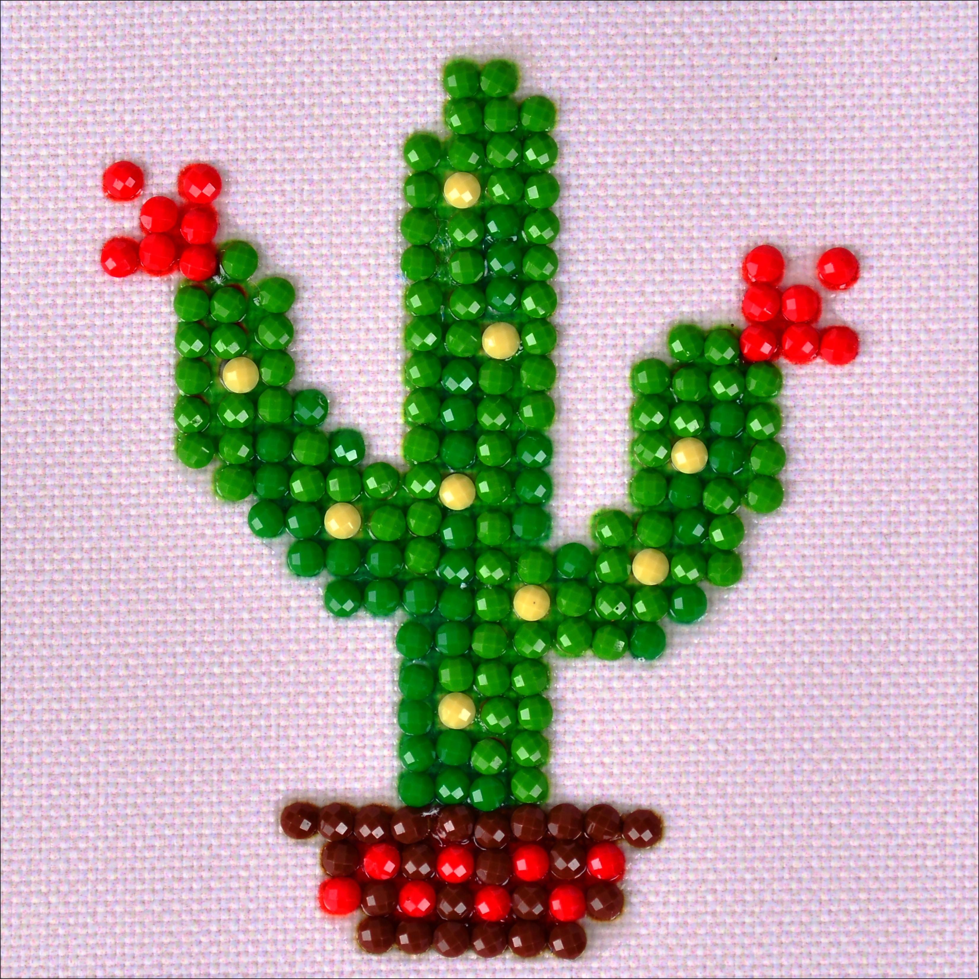 Diamond Dotz Diamond Embroidery Facet Art Kit 4.75X4.75-Texas Bloom