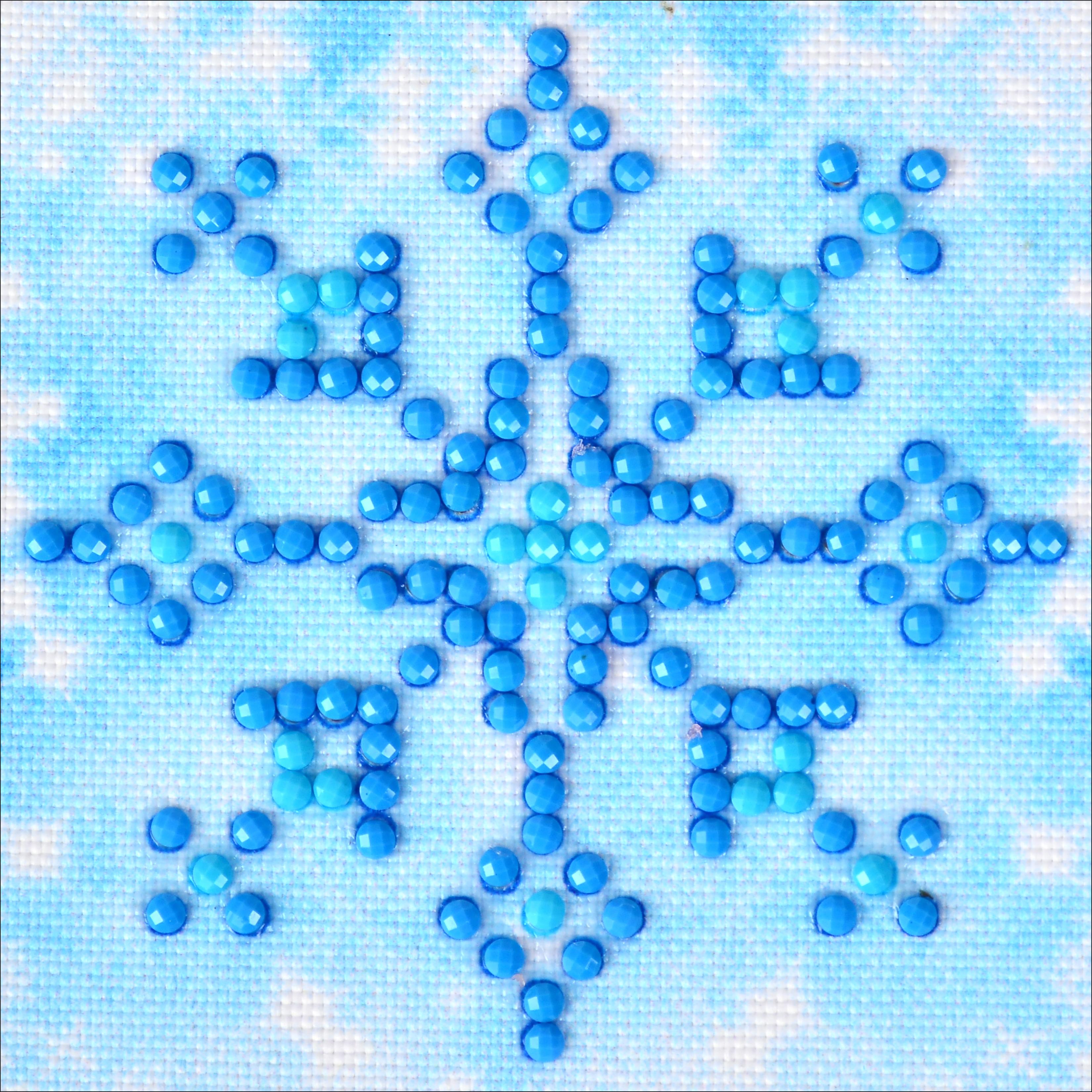 Diamond Dotz Diamond Embroidery Facet Art Kit 4.75X4.75-Snowflake Sparkle