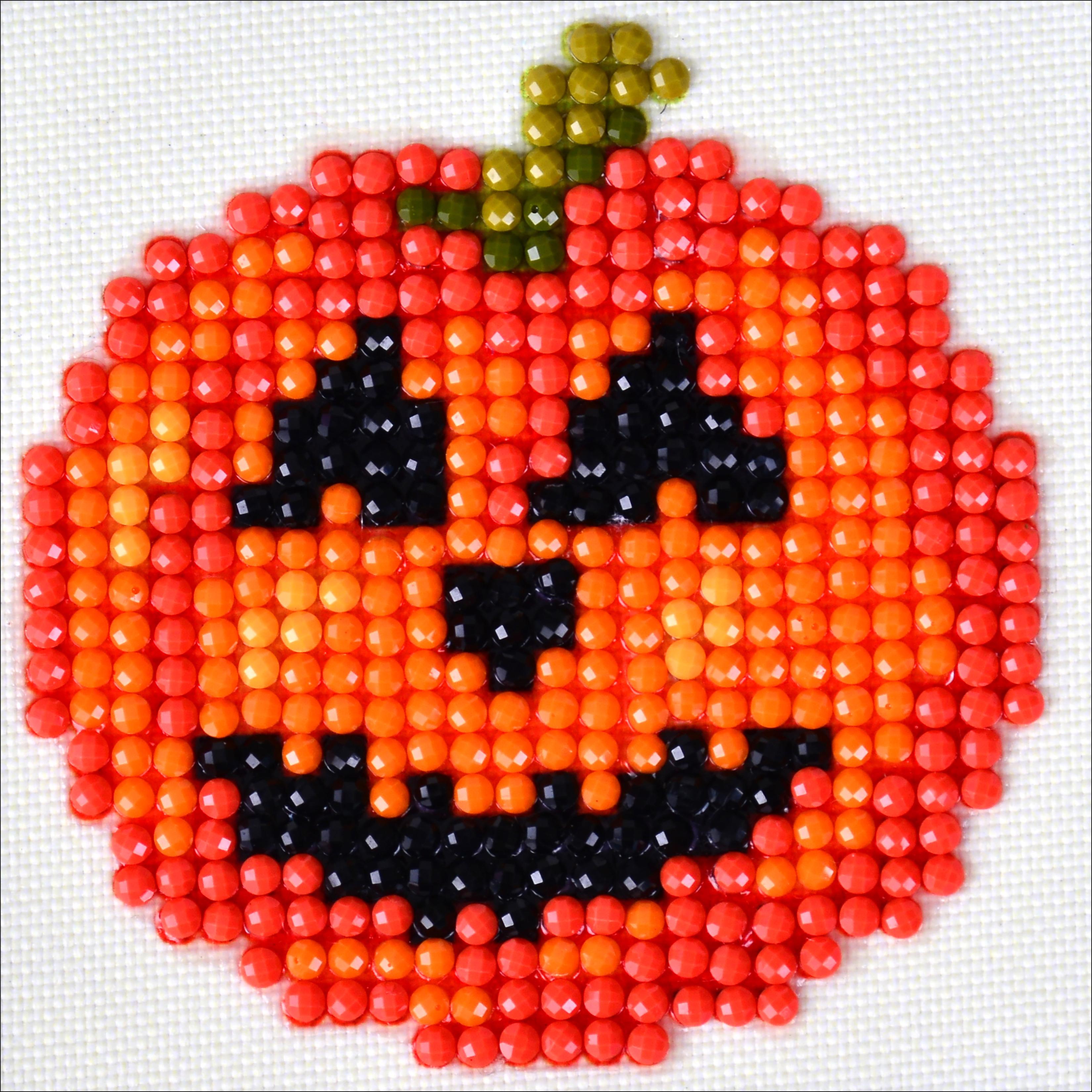 Diamond Dotz Diamond Embroidery Facet Art Kit 4.75X4.75-Happy Halloween