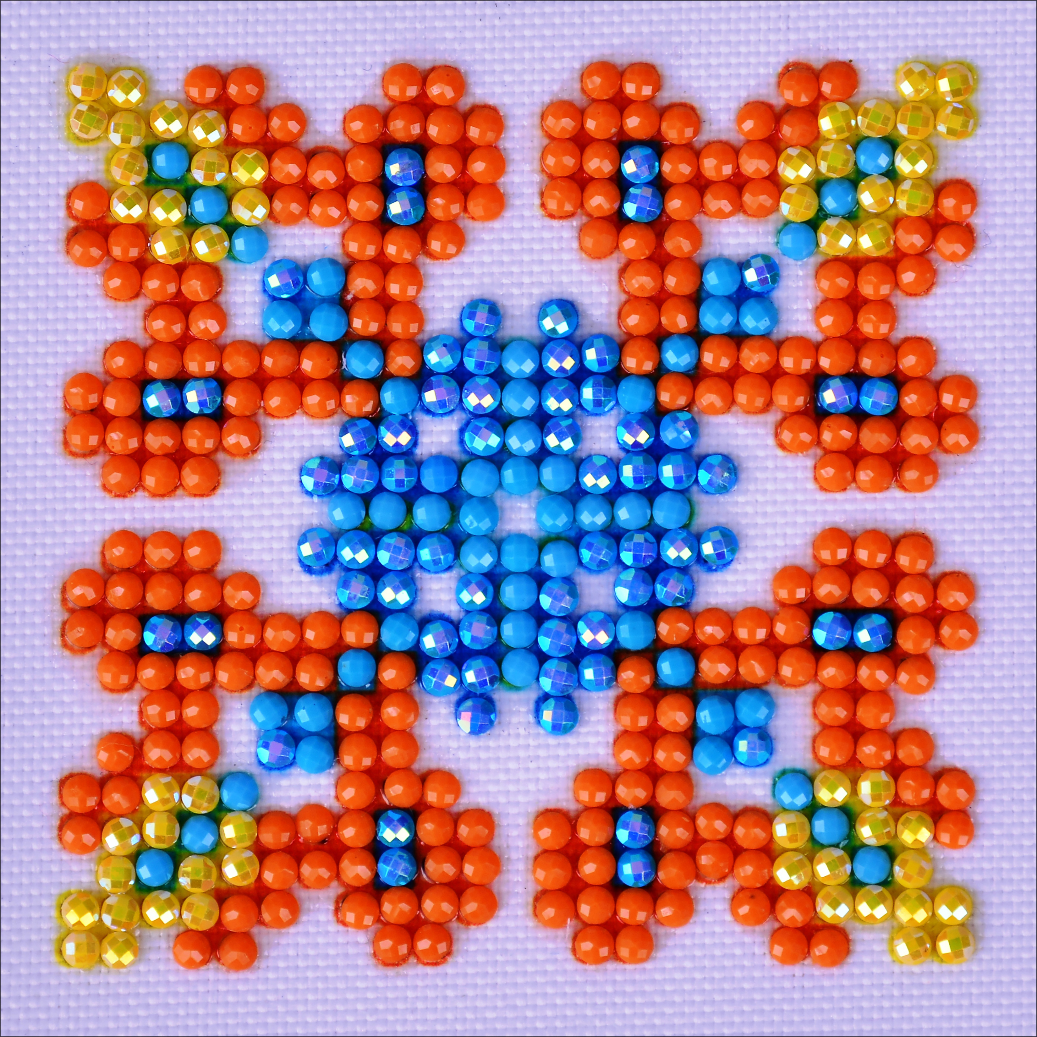 Diamond Dotz Diamond Embroidery Facet Art Kit 4.75X4.75-Autumn Mandala 2